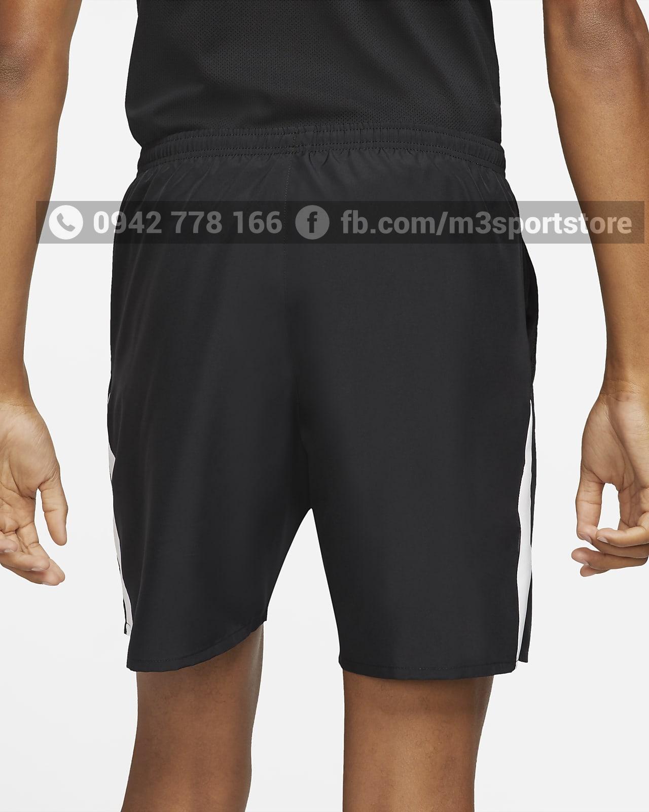 Quần short thể thao nam running Nike Wild Run DA0170-010