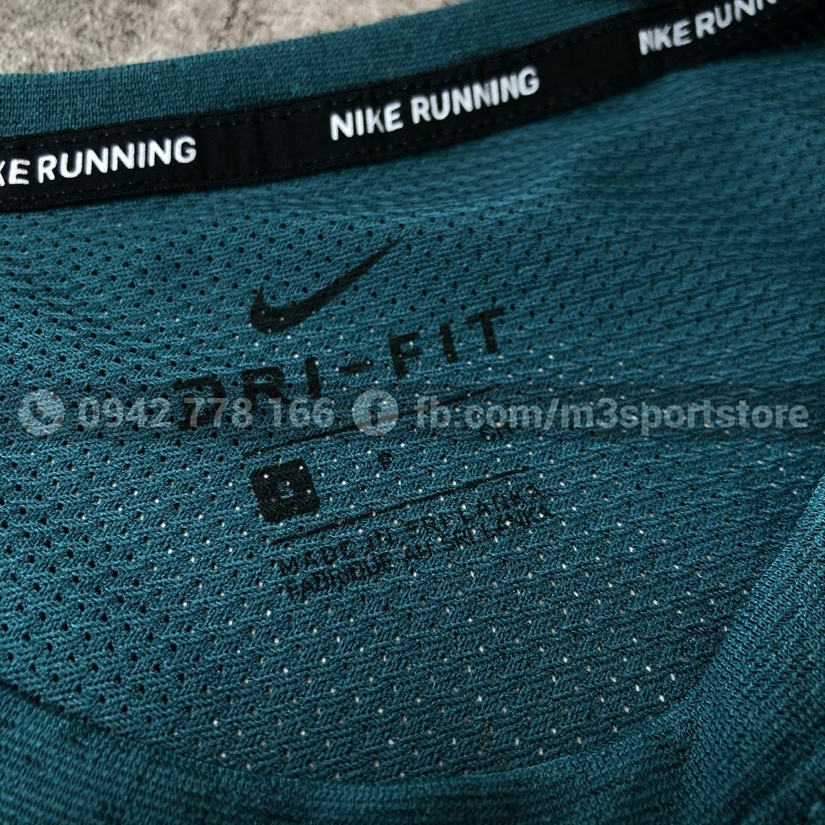 Áo thể thao nam Nike Dri-FIT Miler Wild Run DA0217-393