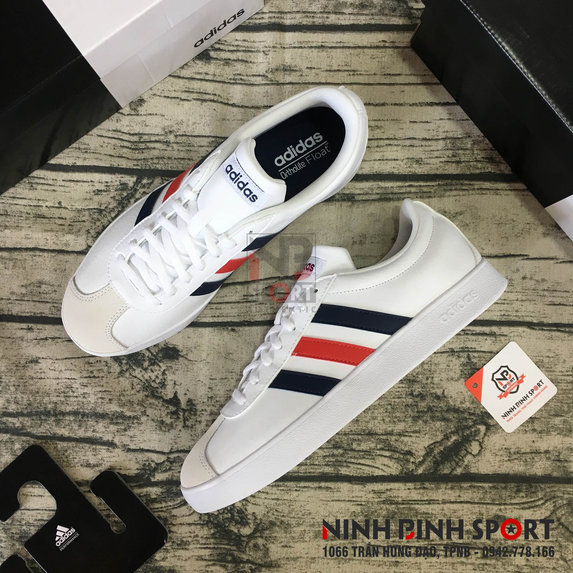 Giày thể thao nam  Adidas Neo VL Court 2.0 DA9884