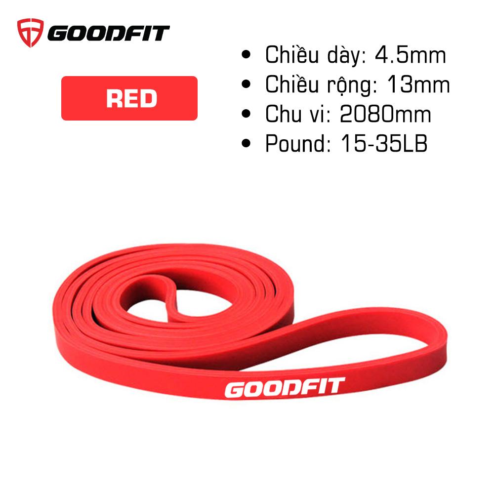 Dây tập gym, tập mông mini band GoodFit GF913MB