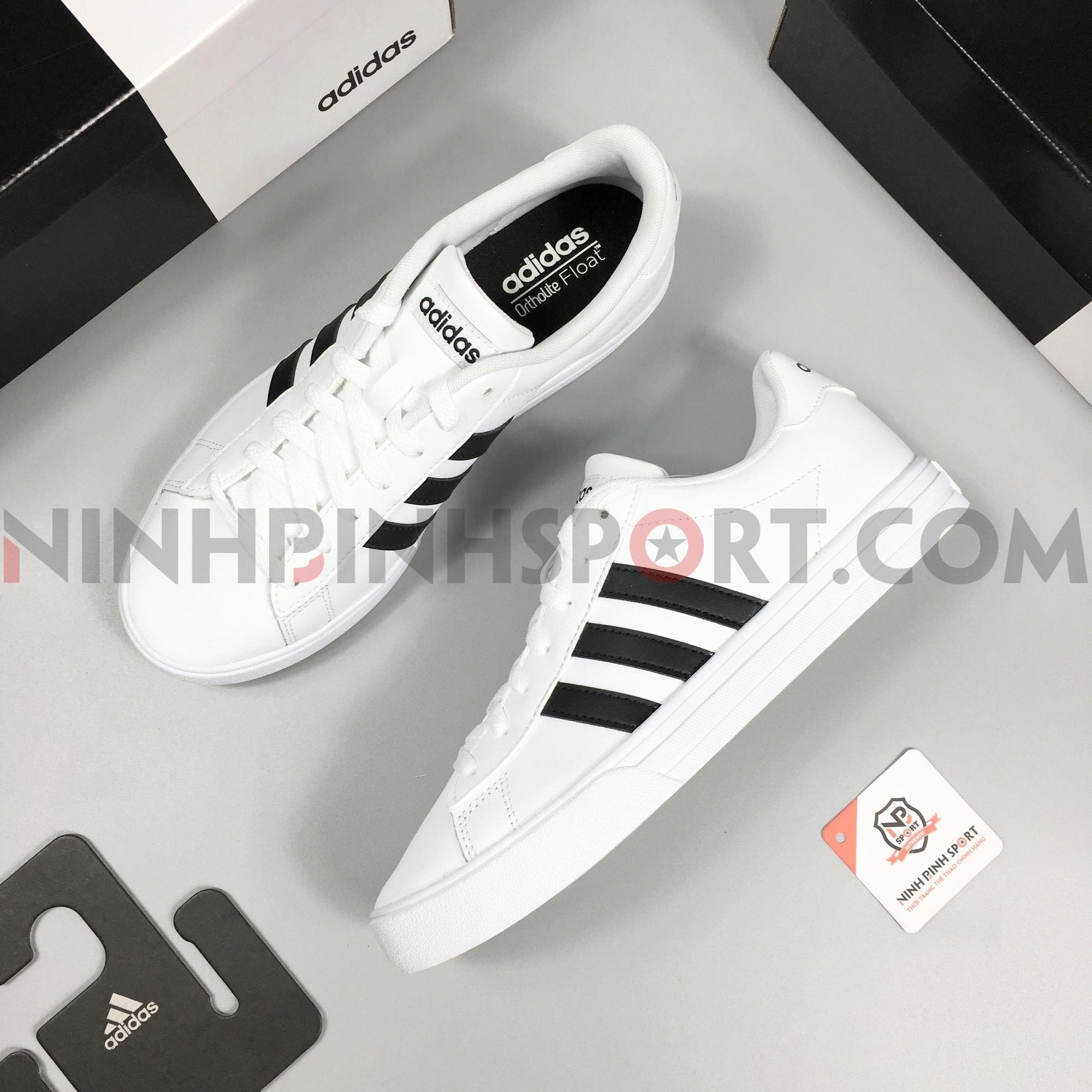 Giầy thể thao nam Adidas Neo Daily 2.0 White - DB0160