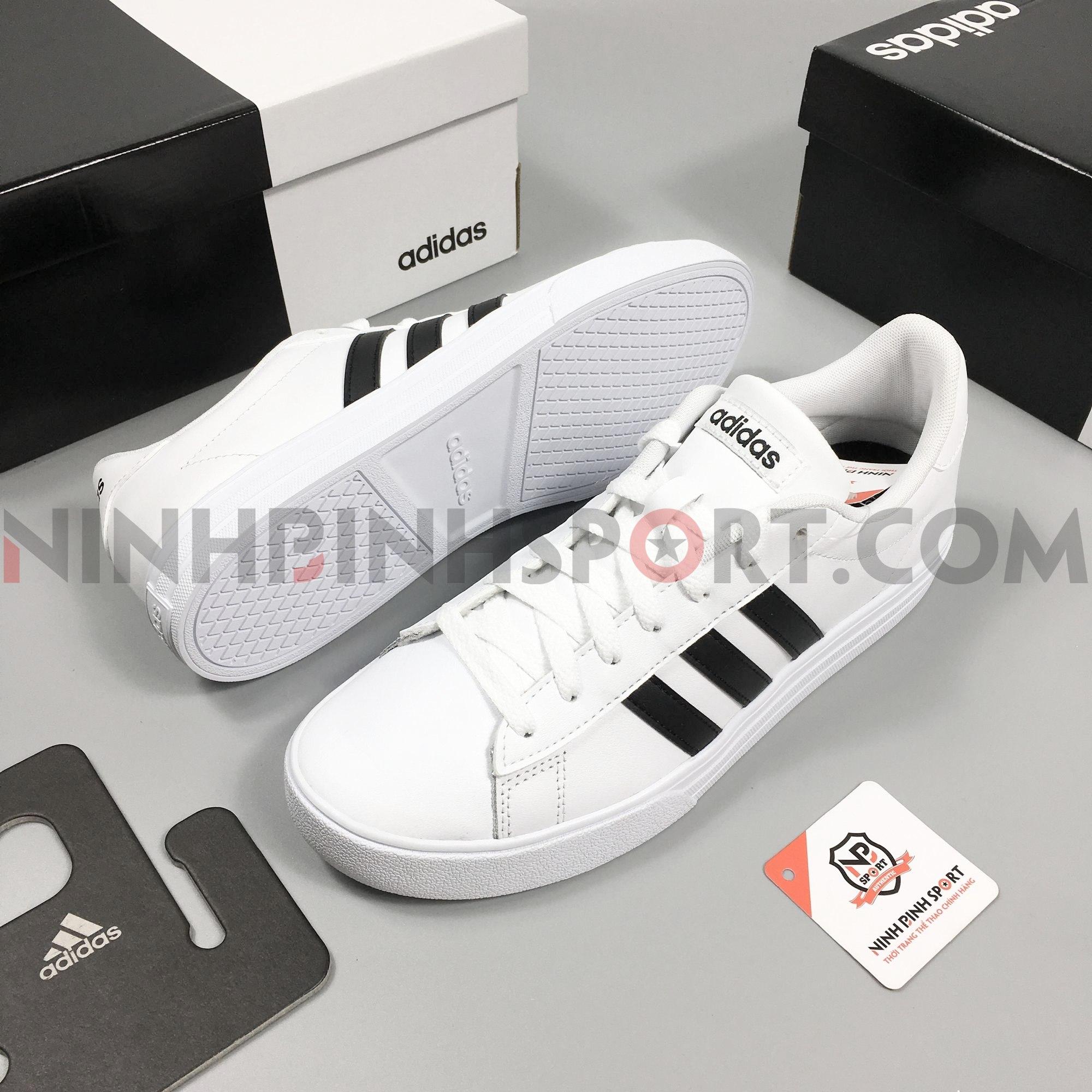 Giày thể thao nam Adidas Neo Daily 2.0 White - DB0160