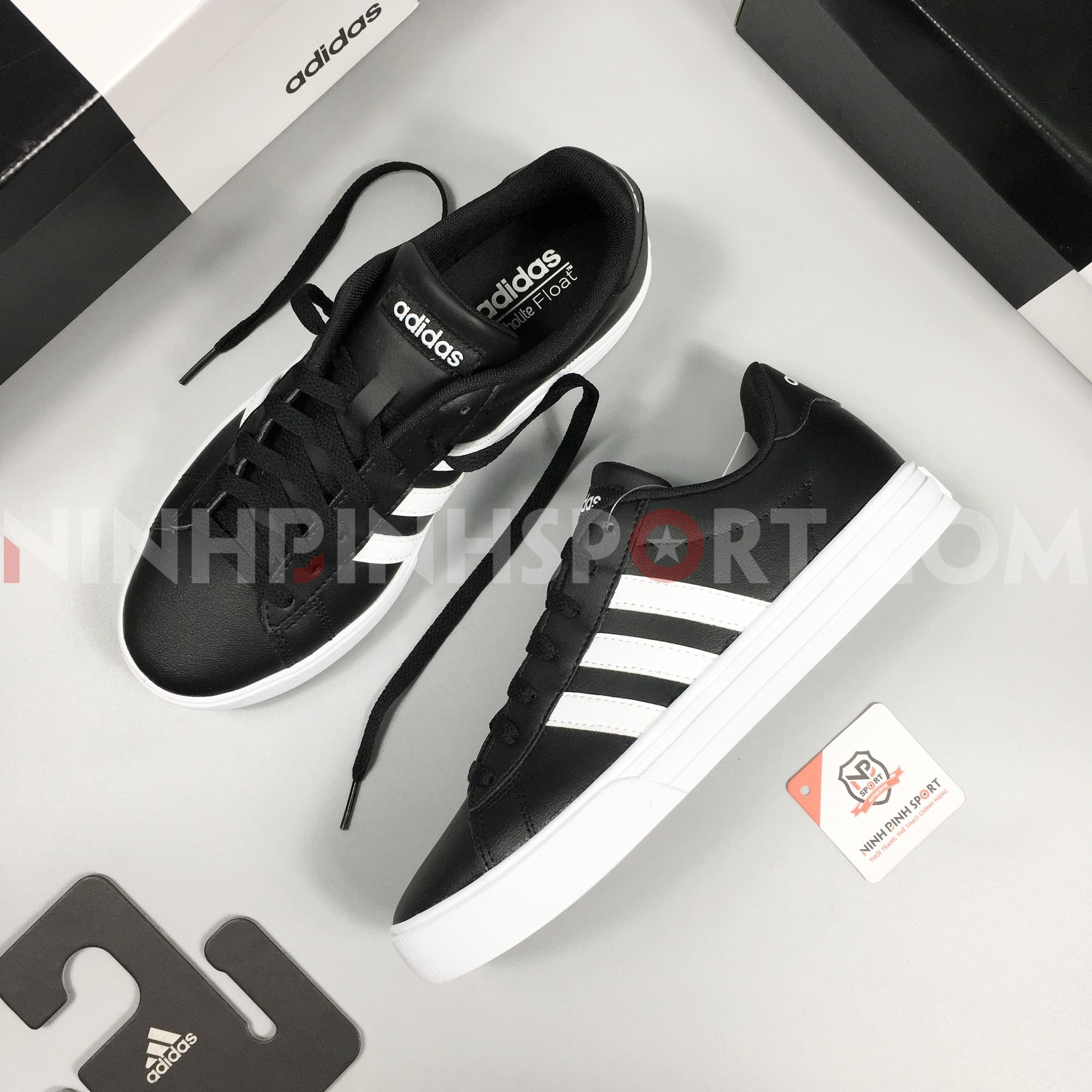 Giầy thể thao nam Adidas Neo Daily 2.0 Black - DB0161