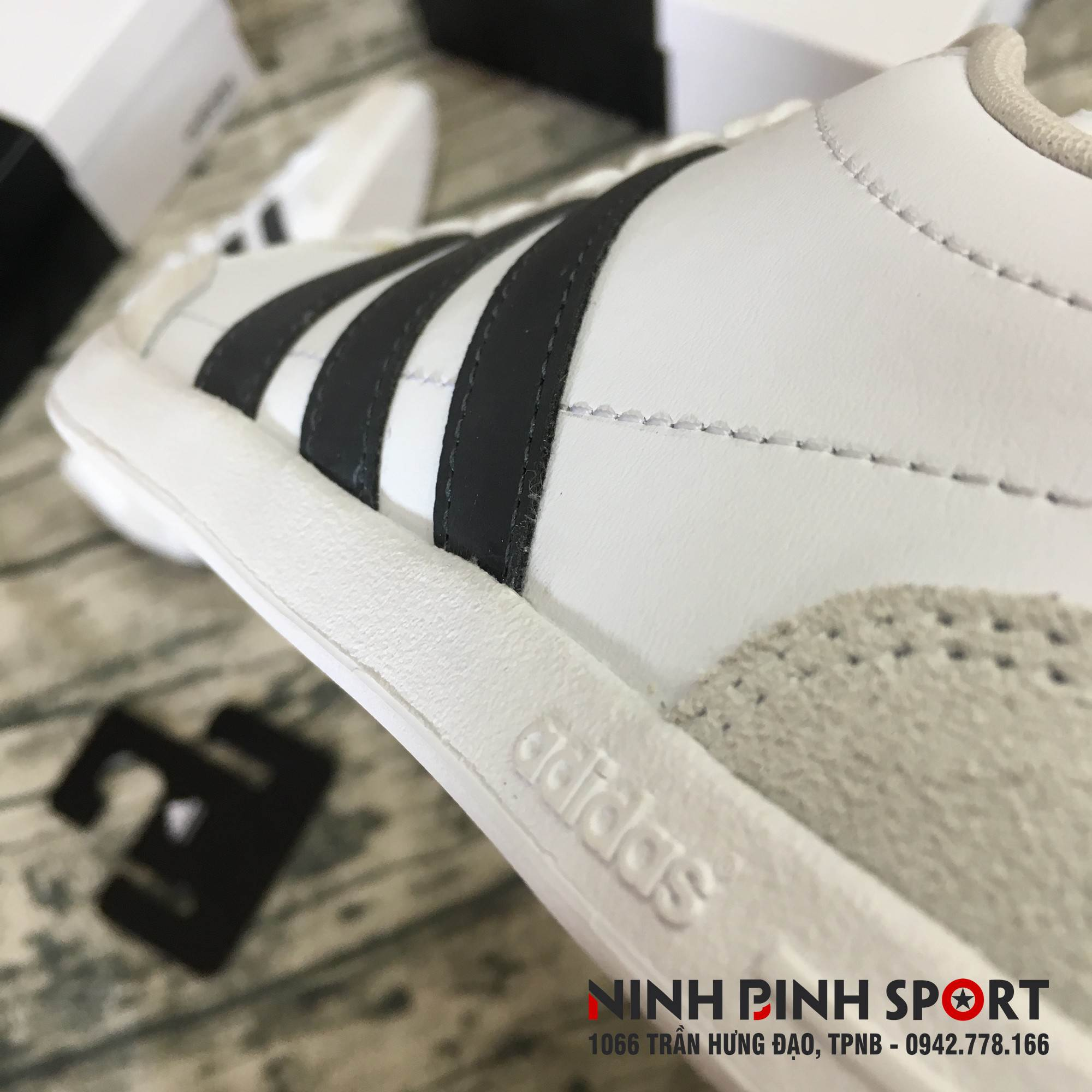 Giầy thể thao nam  Adidas Neo CAFLAIRE DB1347