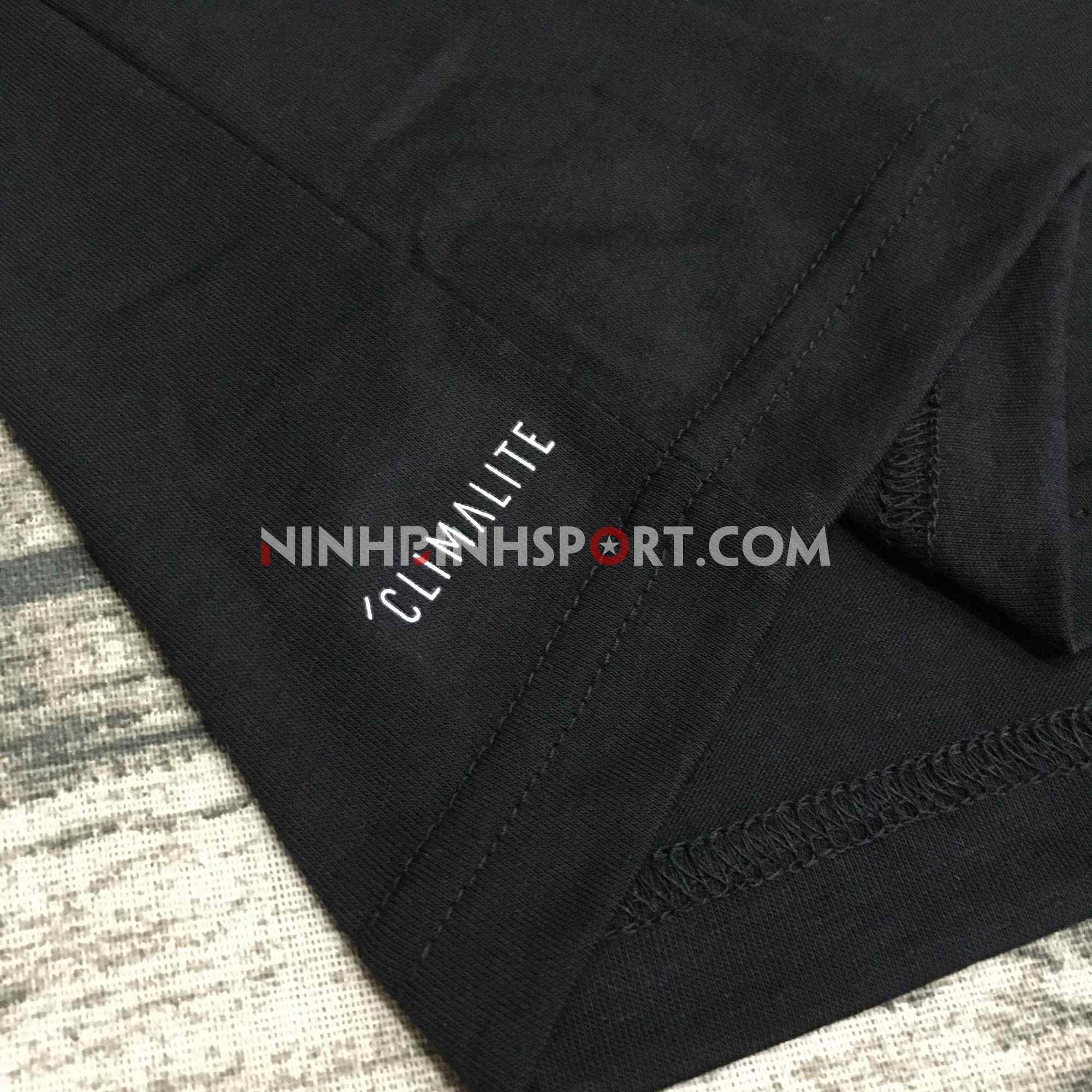 Áo thể thao nam Adidas FreeLift Logo Tee - Black DI0398