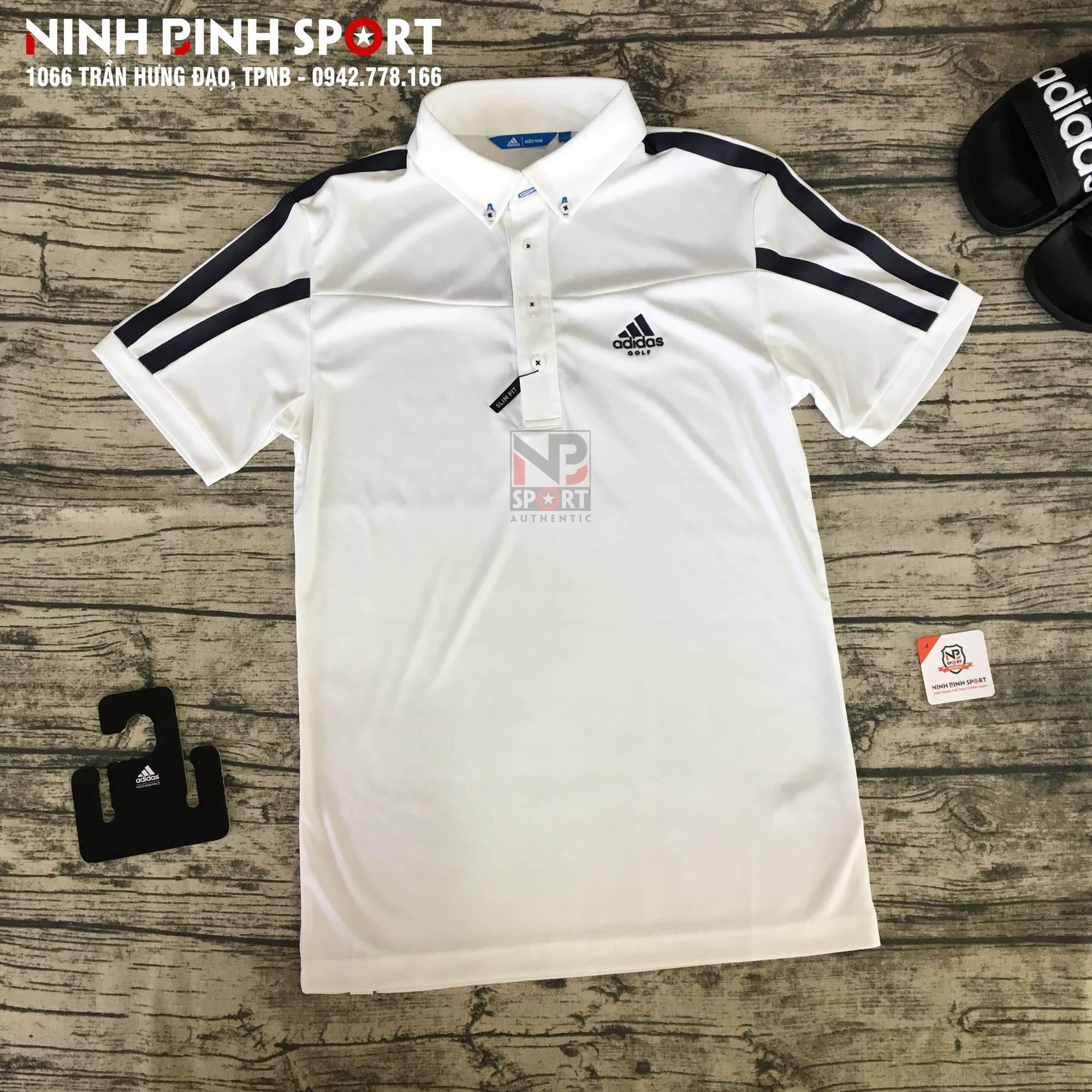Áo thể thao nam Adidas Adicross Climacool Garcia Polo Shirt White DJ3591