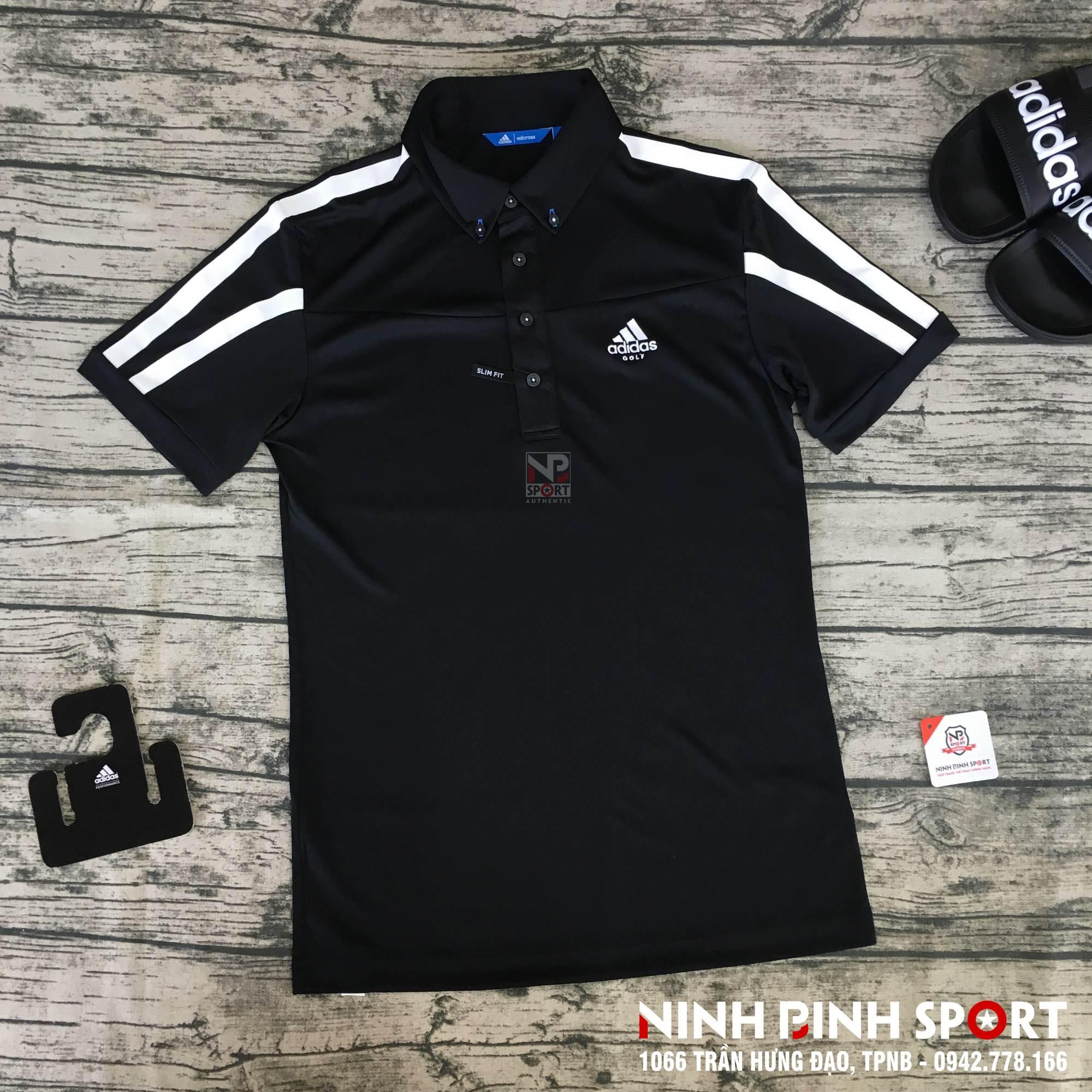 Áo thể thao nam Adidas Adicross Climacool Garcia Polo Shirt Black DJ3593