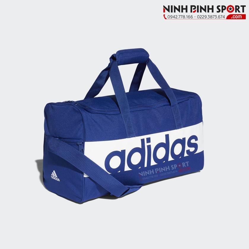 Túi thể thao Adidas Linear Performance Blue DM7651