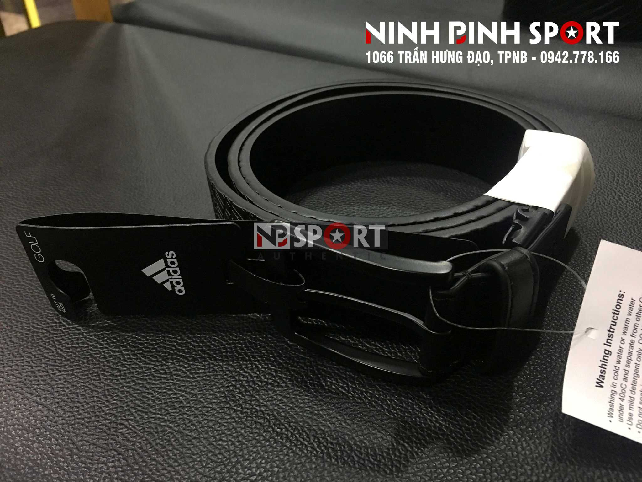 Dây lưng thể thao nam Adidas DP1619