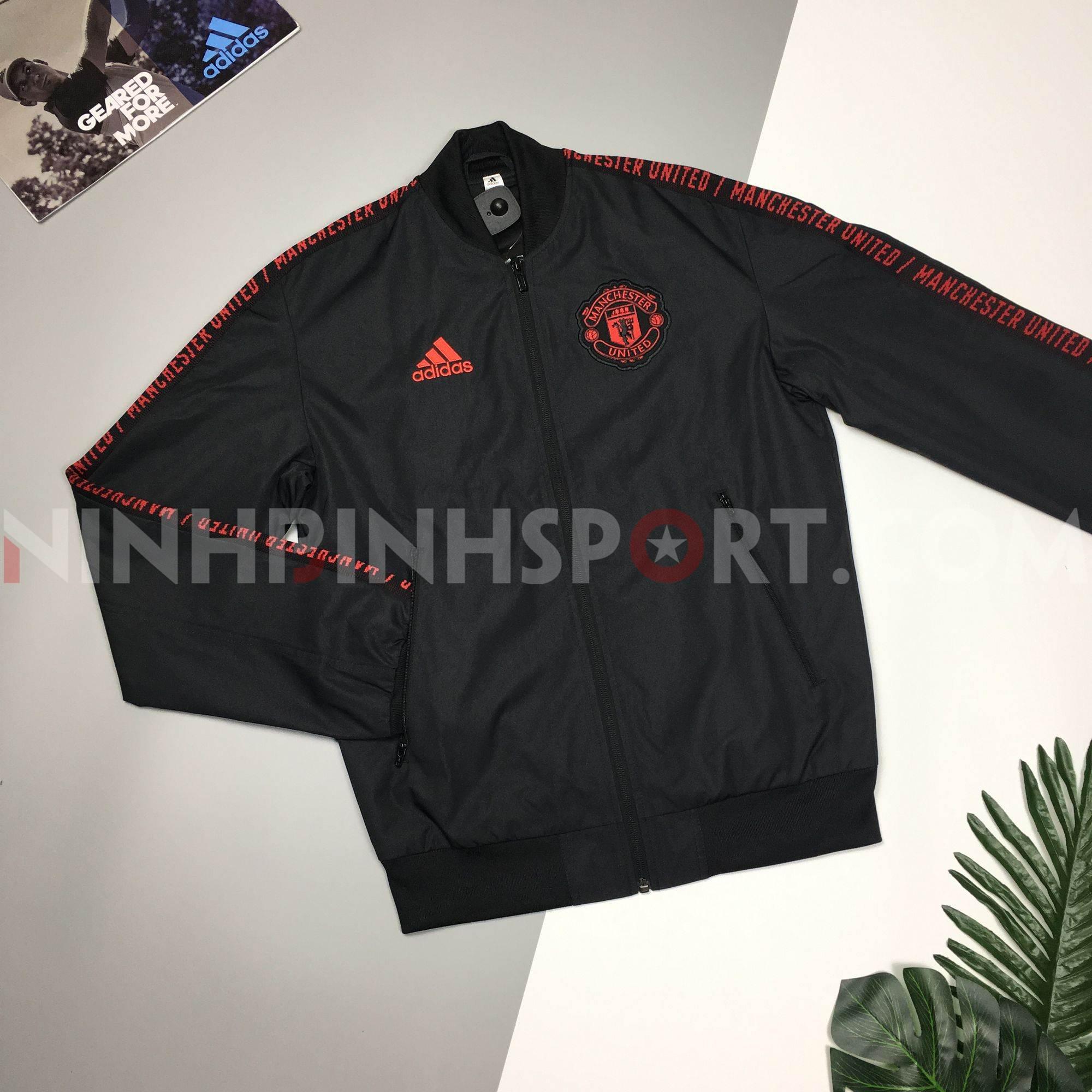 Áo khoác thể thao nam Adidas MUFC Jacket Bomb - DP2327