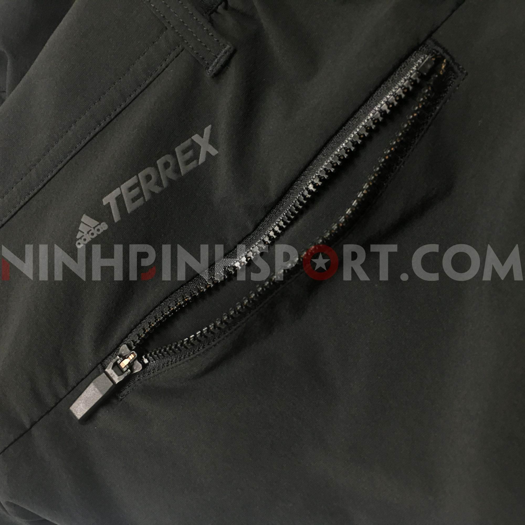 Quần dài thể thao nam Adidas Liteflex Black DQ1508