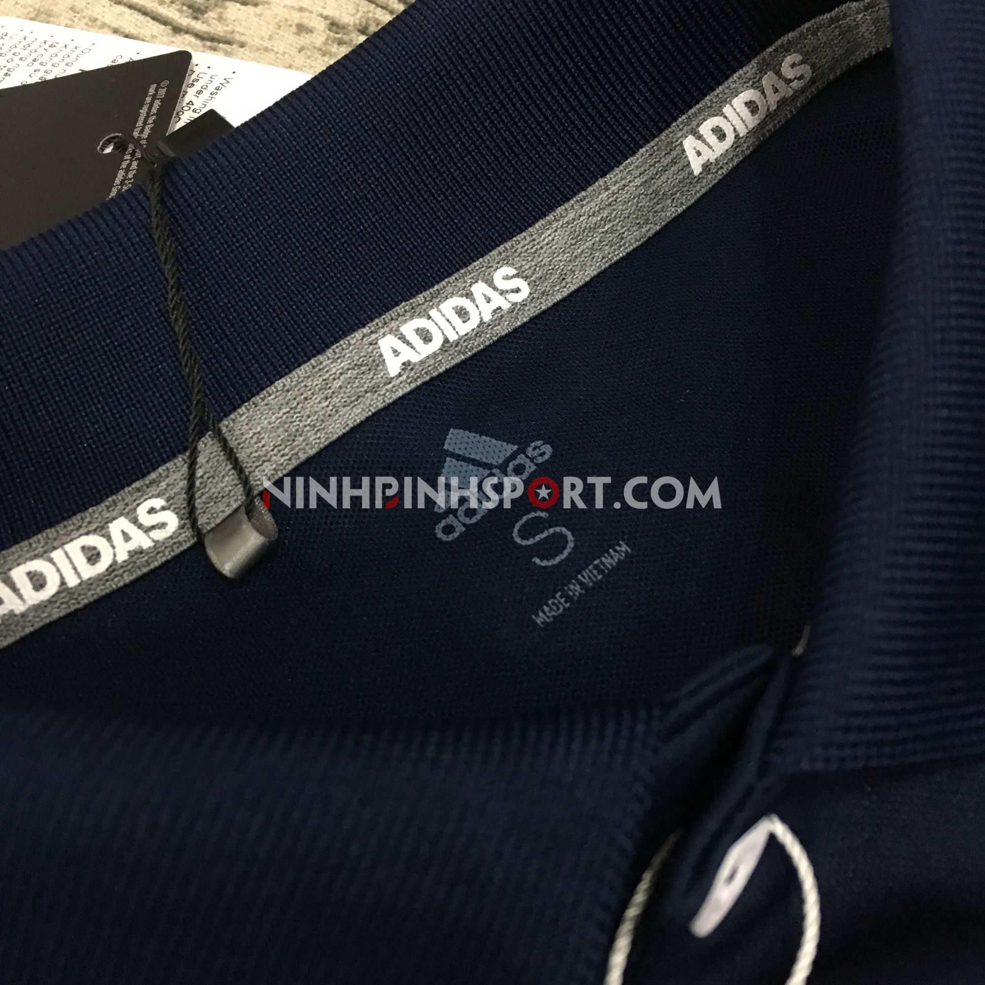 Áo thể thao nam Adidas Golf 3-Stripes Polo DQ2296