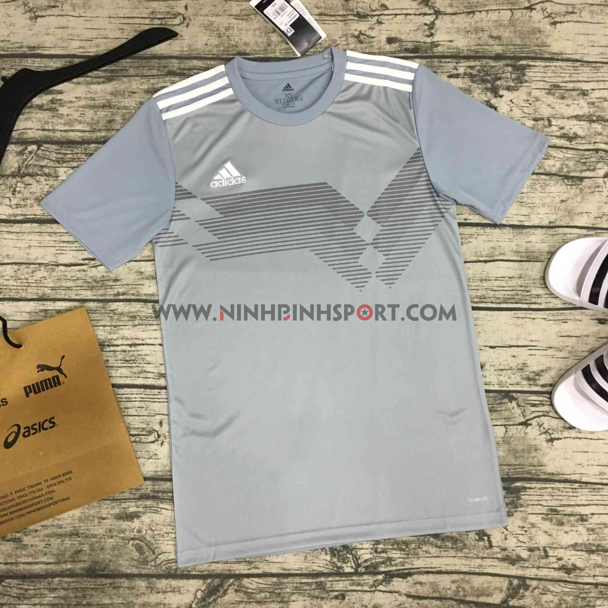 Áo thể thao nam Adidas Campeon 19 Jersey Grey DS8750