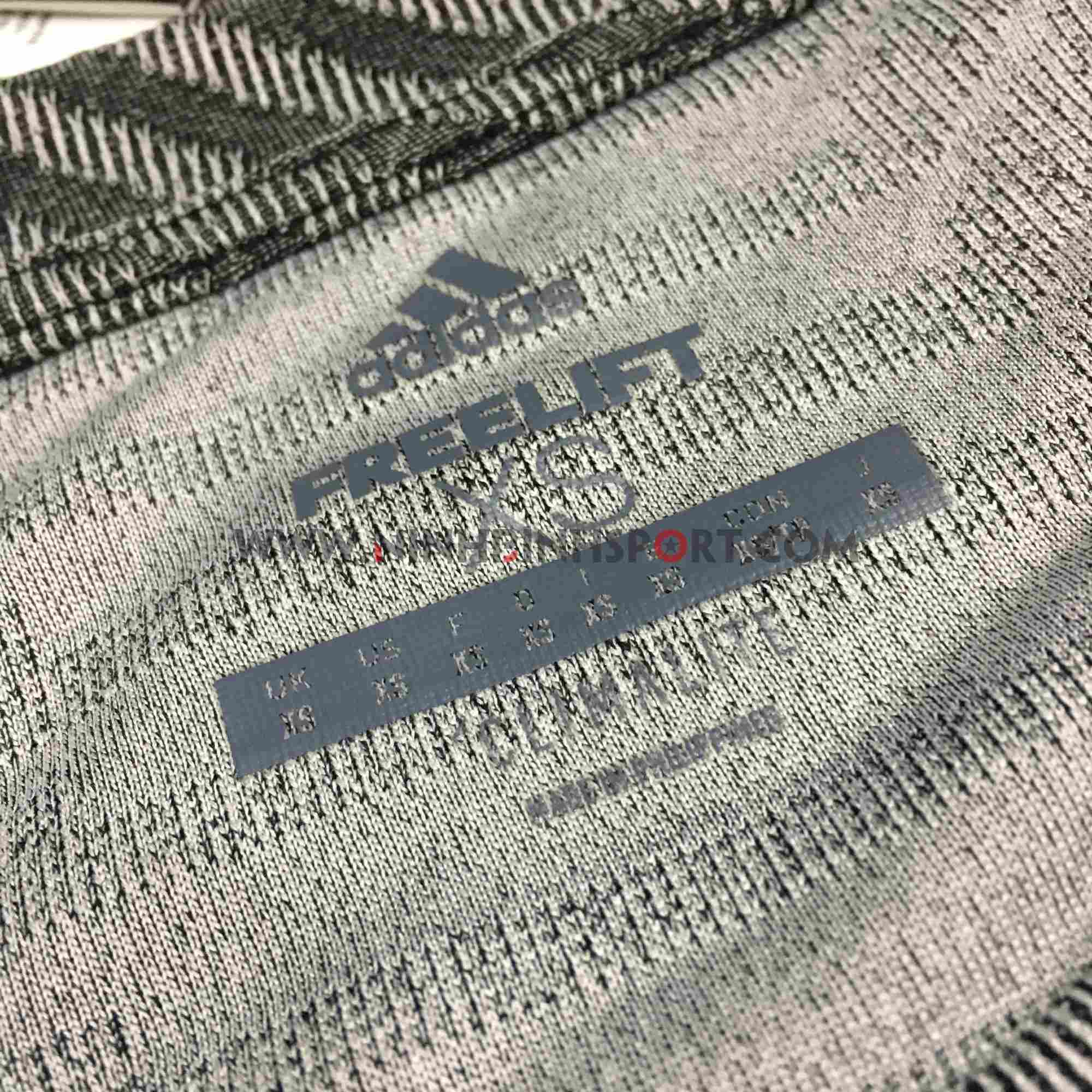 Áo thể thao nam Adidas FreeLift 360 Graphic Tee Grey DS9277