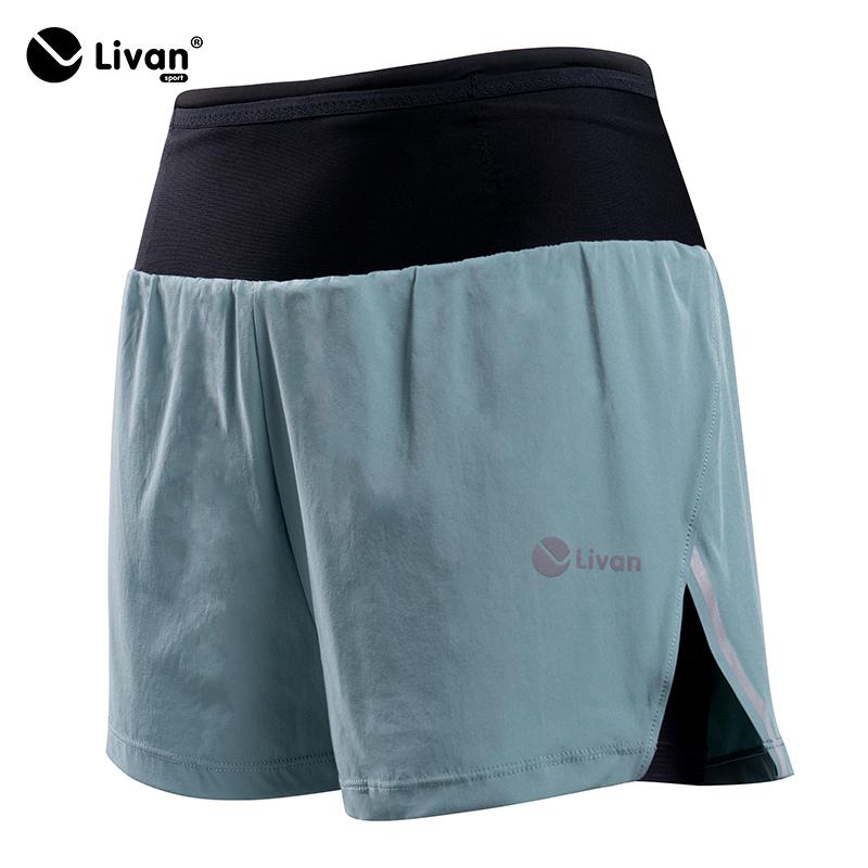 Quần short nam 2 lớp LV LITE cao cấp màu xanh LV20220031XR