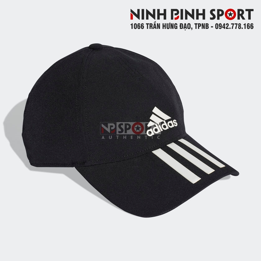 Mũ thể thao Adidas C40 3-Stripes Climalite Black DT8542