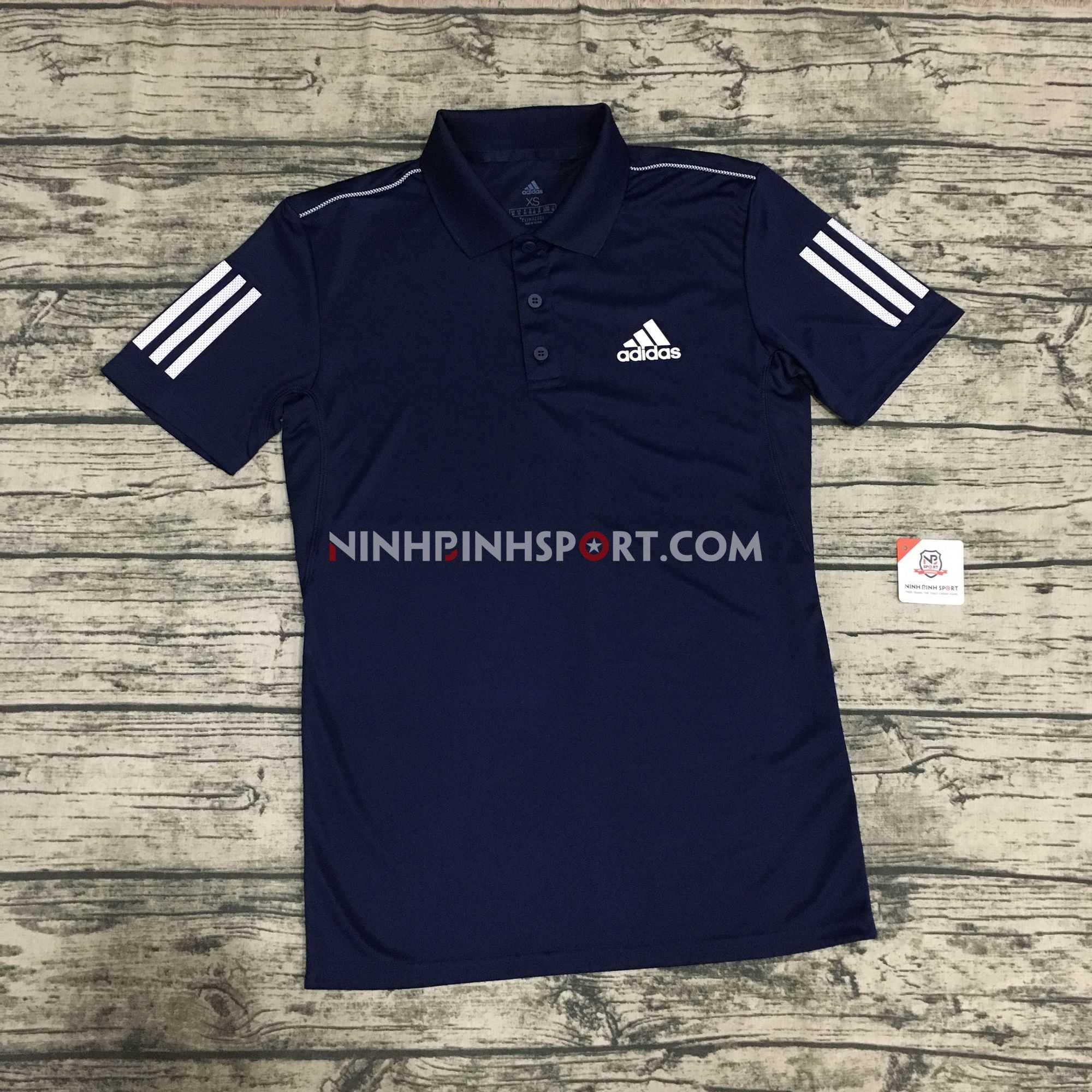 Áo thể thao nam Adidas 3-Stripes Club Polo DU0850