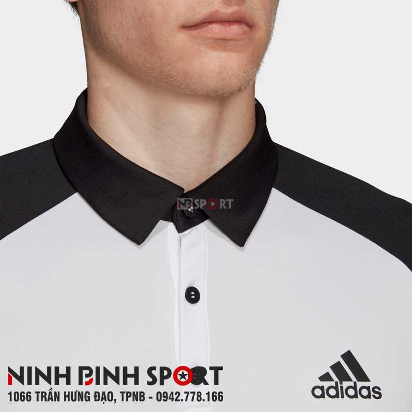Áo thể thao nam Adidas Club Colorblock Polo DU0857
