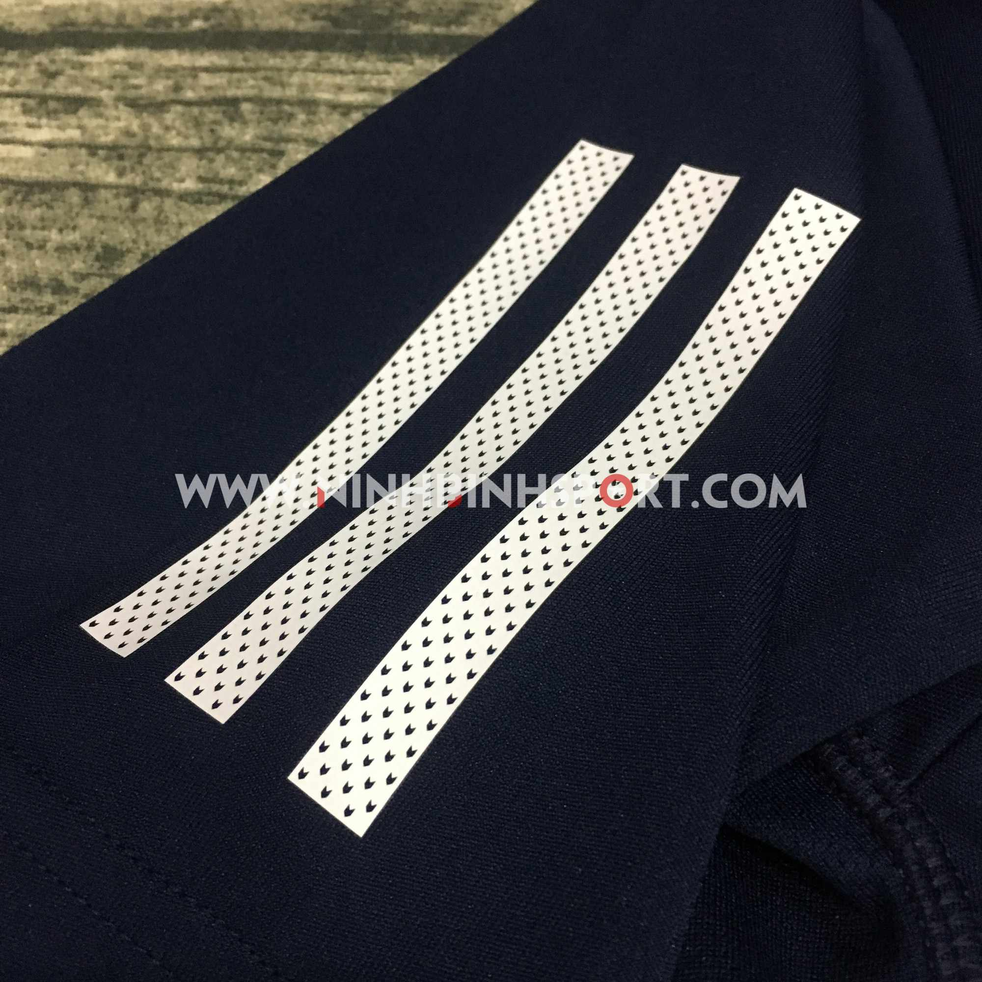 Áo thể thao nam Adidas Club 3 Stripes Tee Conavy DU0858