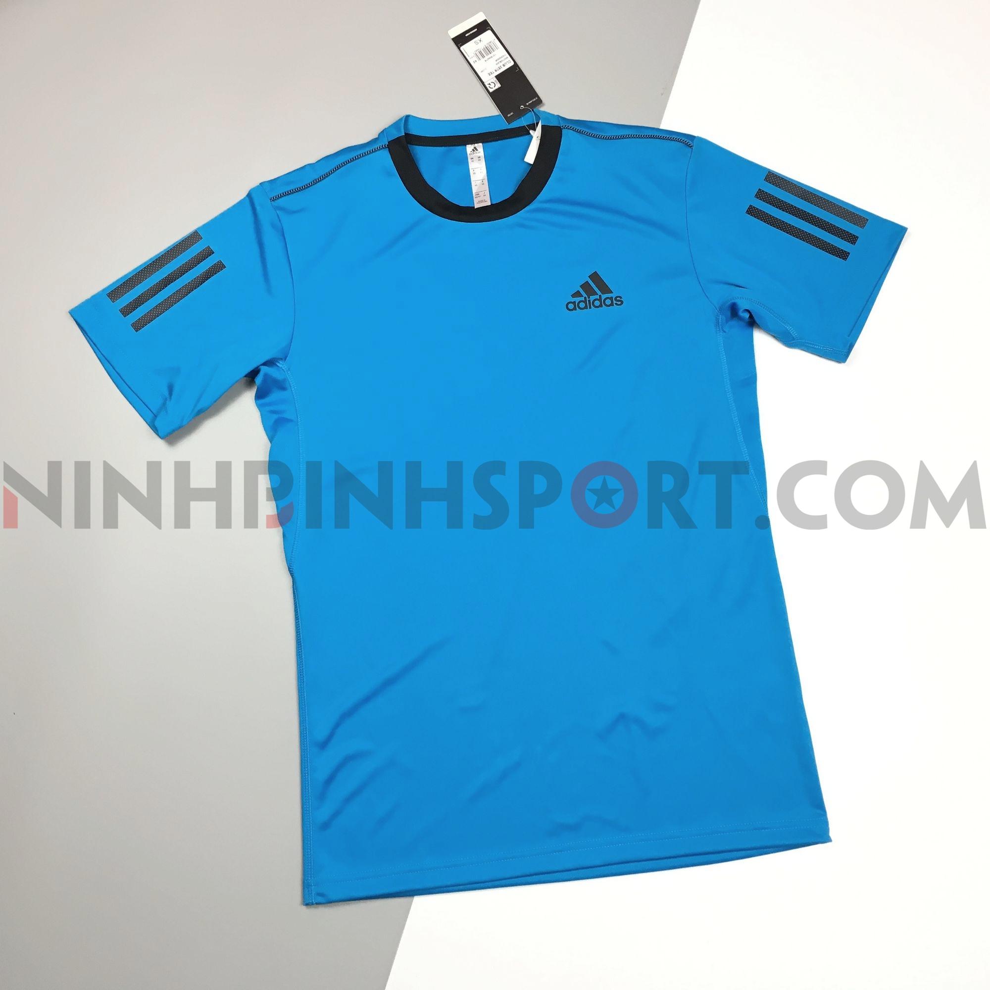 Áo thể thao nam Adidas 3-Stripes Club Tee Blue DU0861