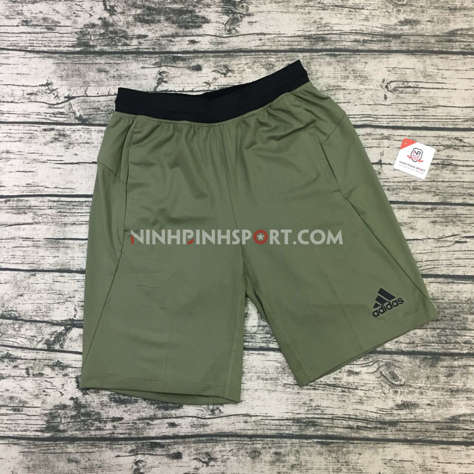 Quần thể thao nam Adidas 4KRFT Sport Ultimate 9in Green DU1558