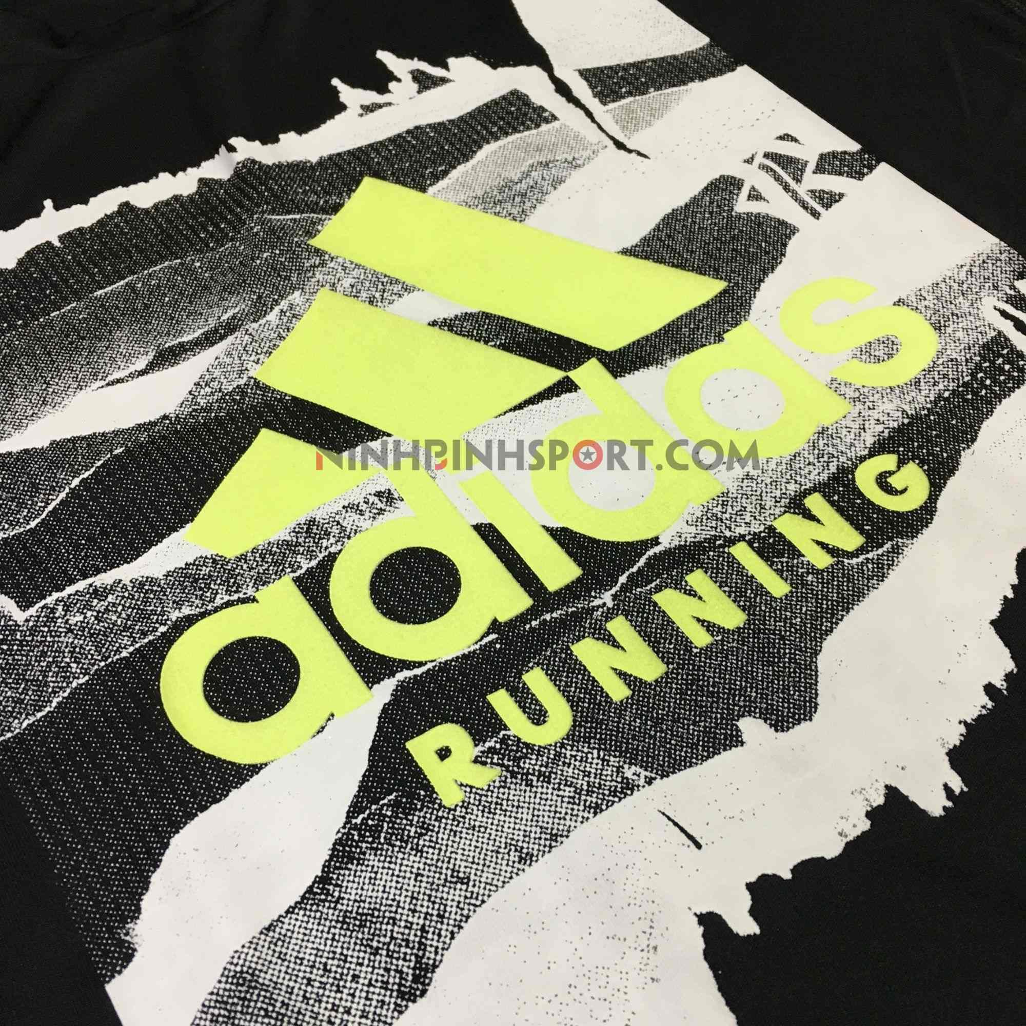 Áo thể thao nam Adidas Category Tee Black DV2987