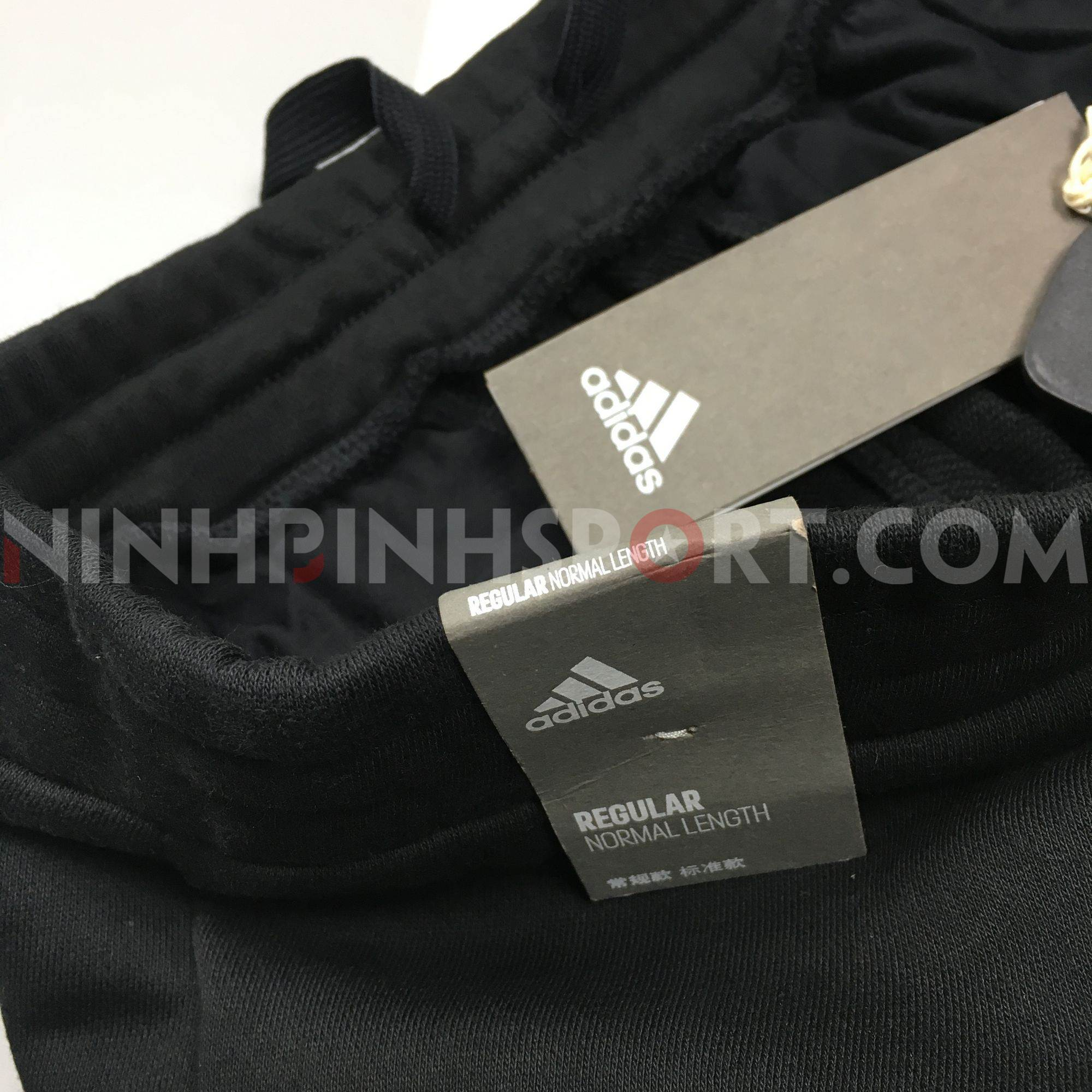 Quần dài thể thao nam Adidas ID FT Black - DW4613