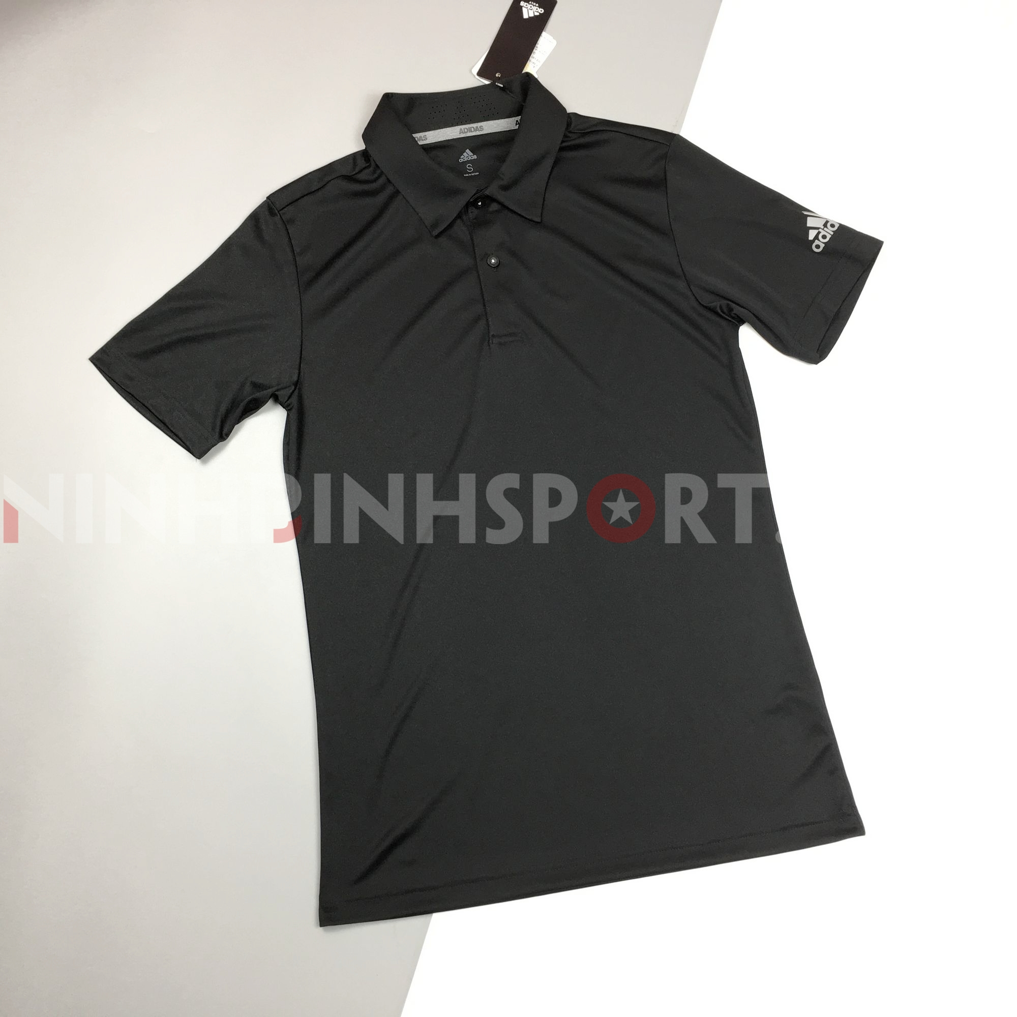 Áo thể thao nam Adidas Golf Polo - Black DW5598