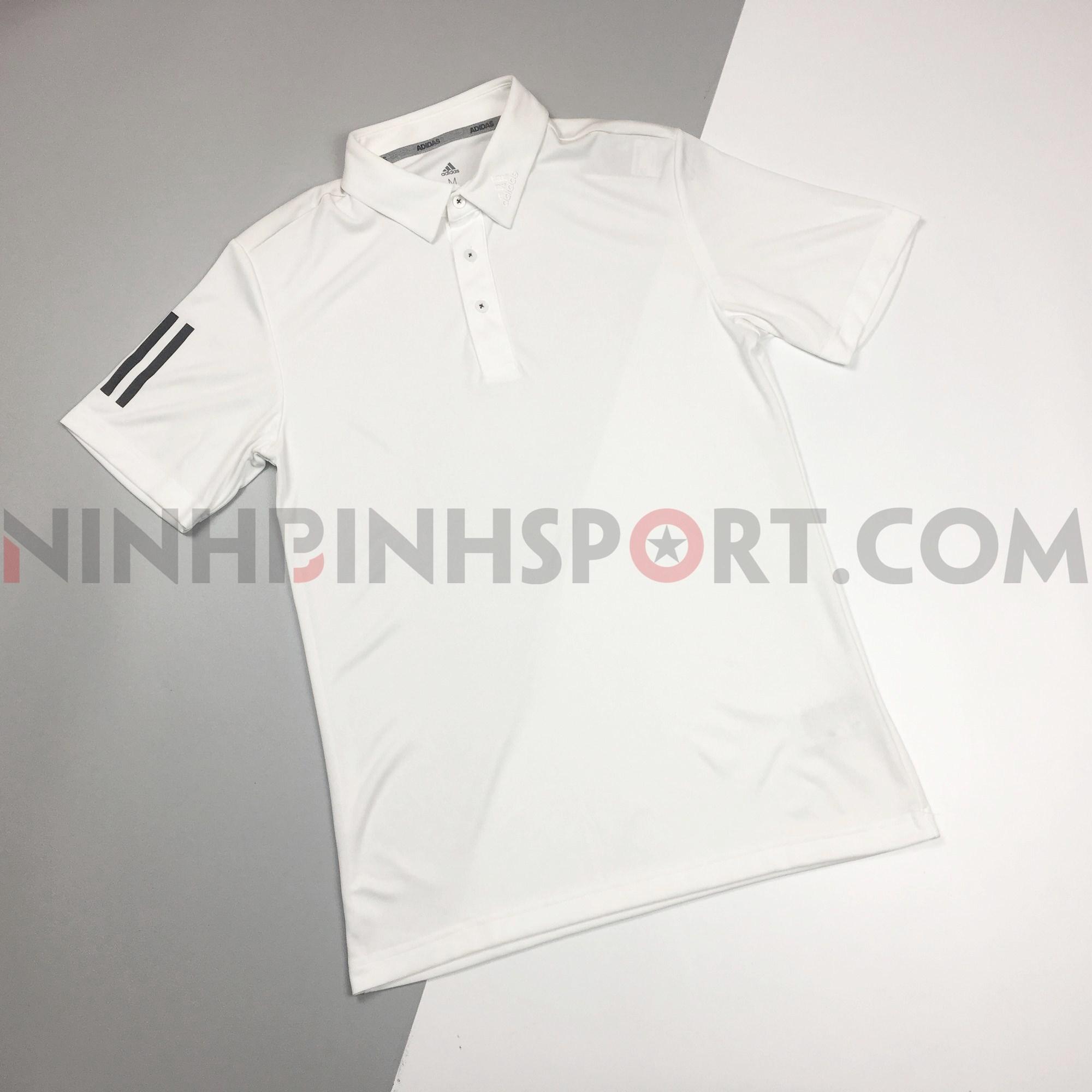 Áo thể thao nam Adidas Golf Polo - White DW5748