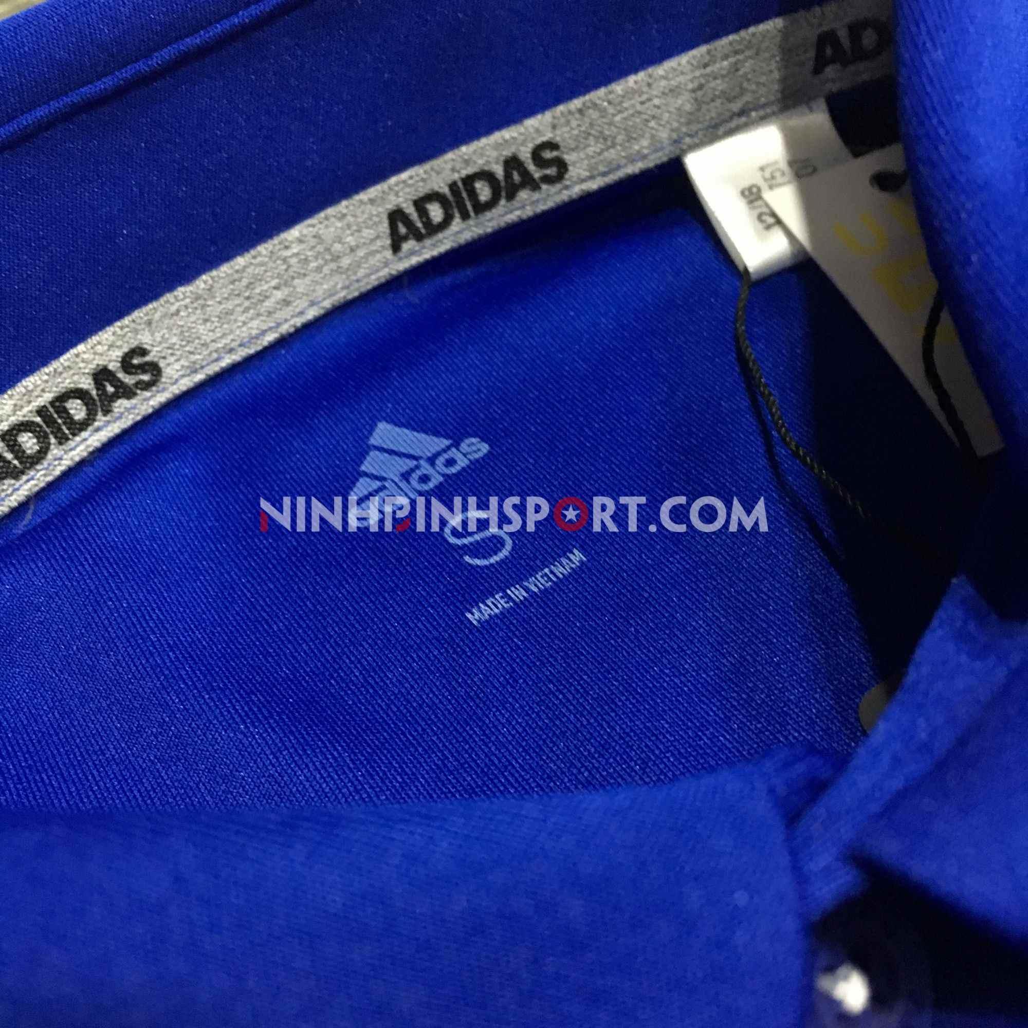 Áo thể thao nam Adidas Golf Polo Shirt-Blue DW5751
