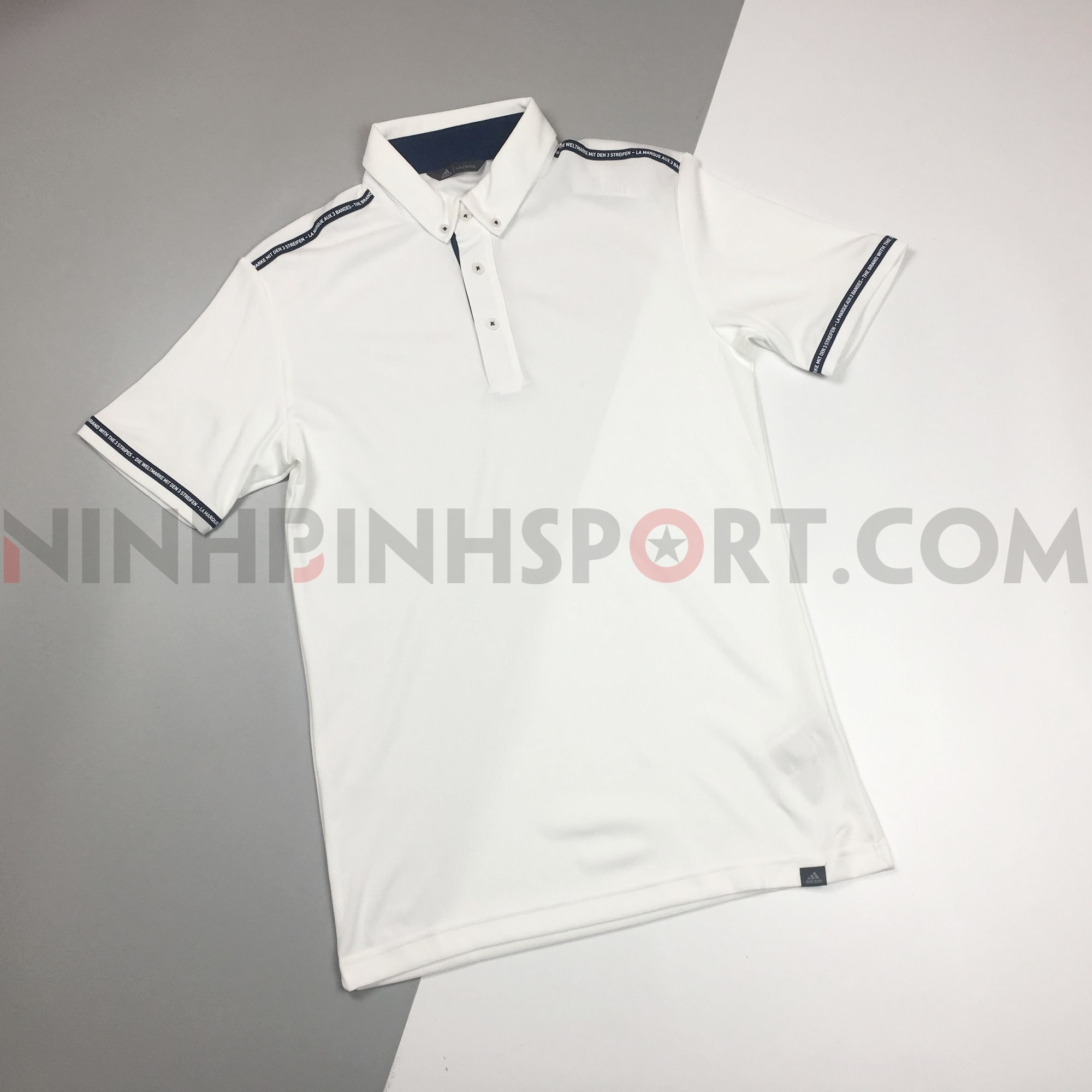 Áo thể thao nam Adidas Golf Adicross Polo Shirt - White DW5797