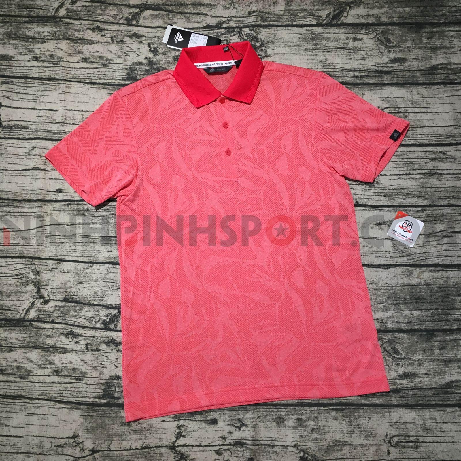 Áo thể thao nam Adidas Golf Adicross Jacquard Polo DW6314
