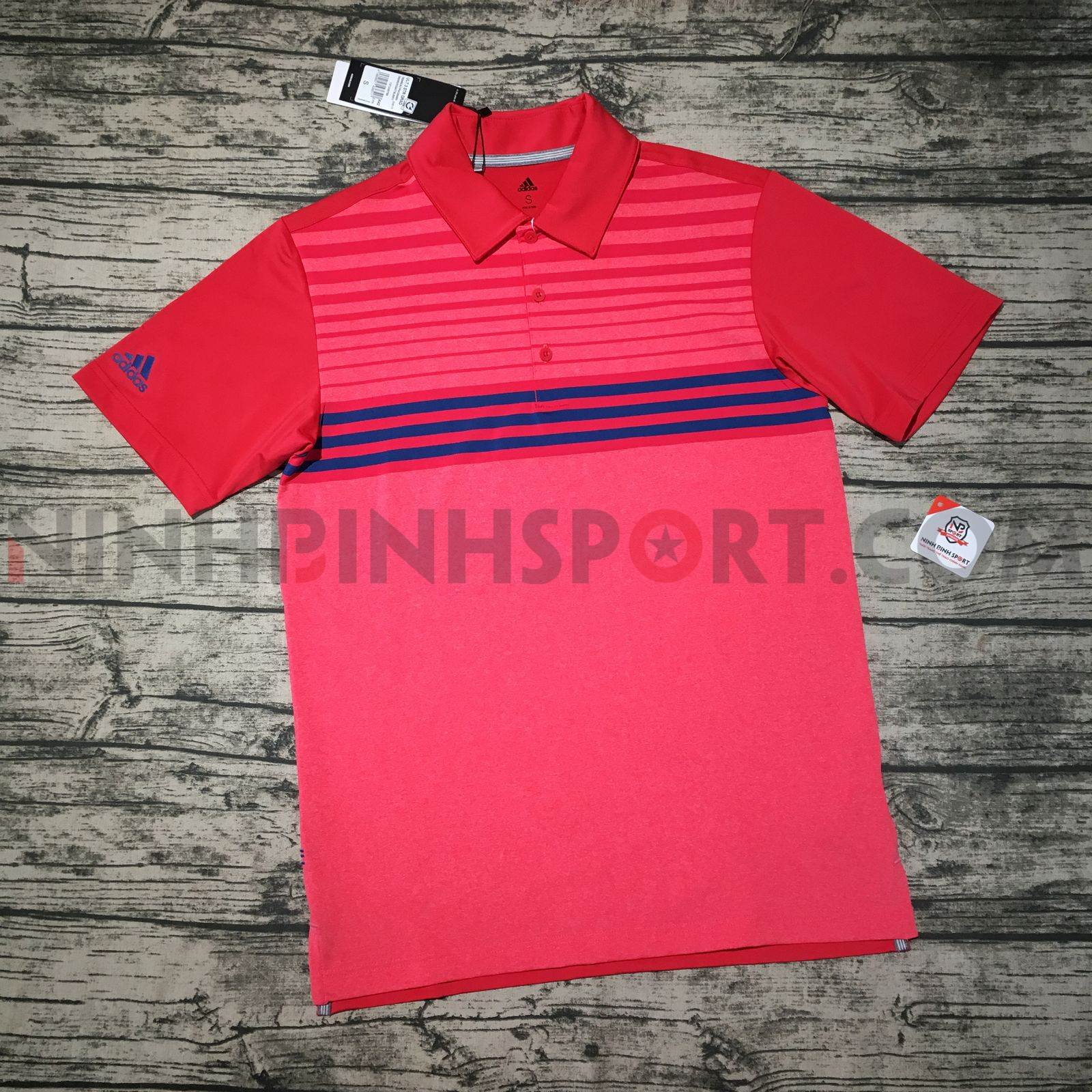 Áo thể thao nam Adidas Golf Ultimate365 3S Red DW9179