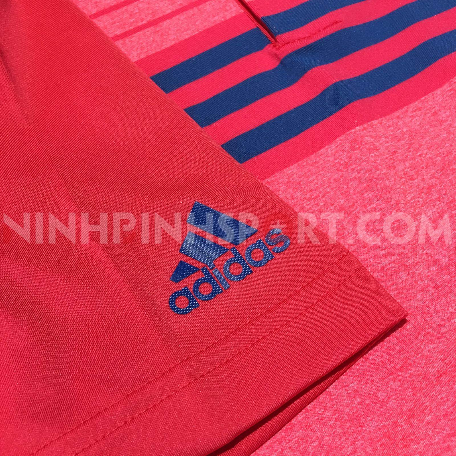 Áo thể thao nam Adidas Golf Ultimate365 3S Red Polo DW9179