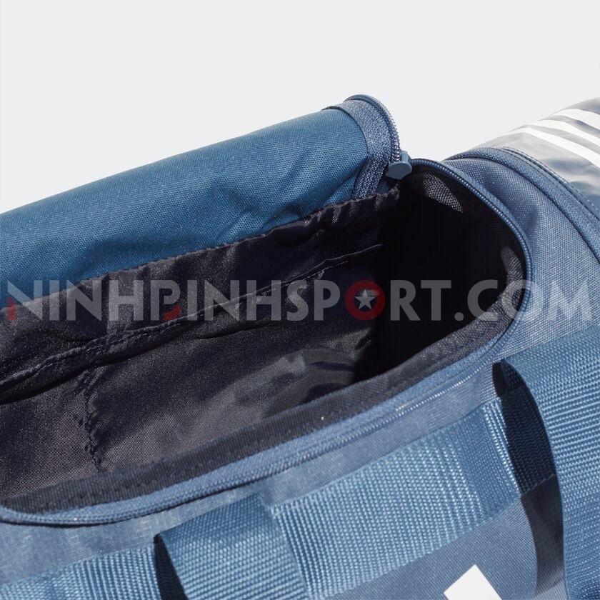 Túi thể thao Adidas Convertible 3S Duffel Bag XS Blue DZ8650