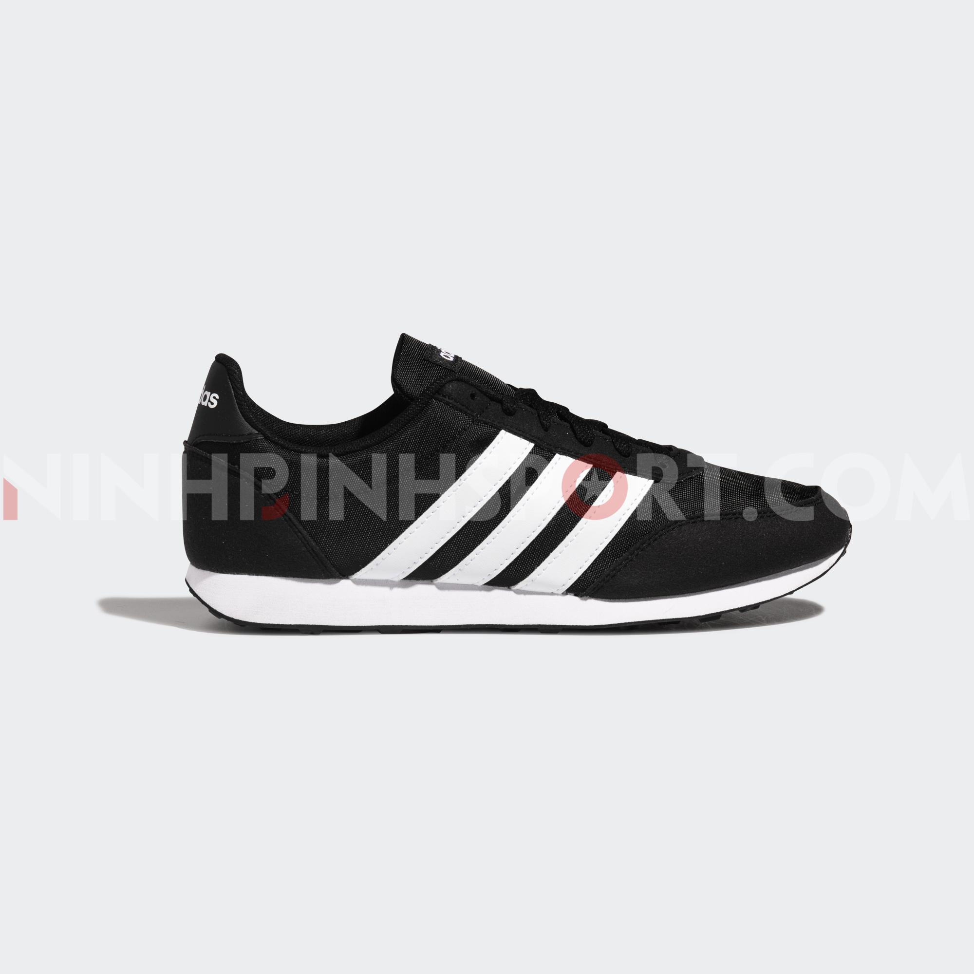 Giày thể thao nam Adidas Neo V Racer 2.0 Black - EE6405