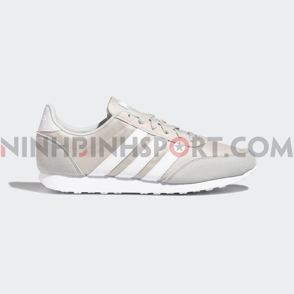 Giày thể thao nam Adidas Neo V Racer 2.0 Gray - EE6407