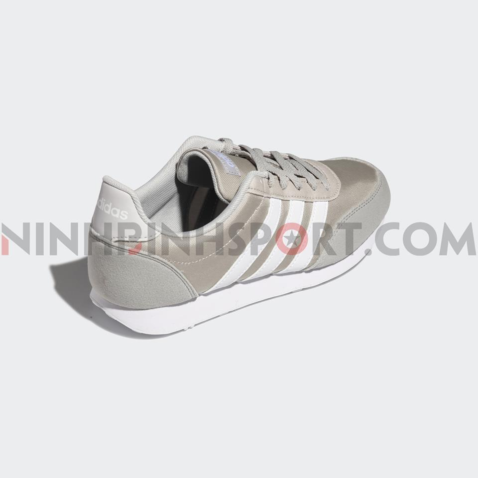 Giầy thể thao nam Adidas Neo V Racer 2.0 Gray - EE6407
