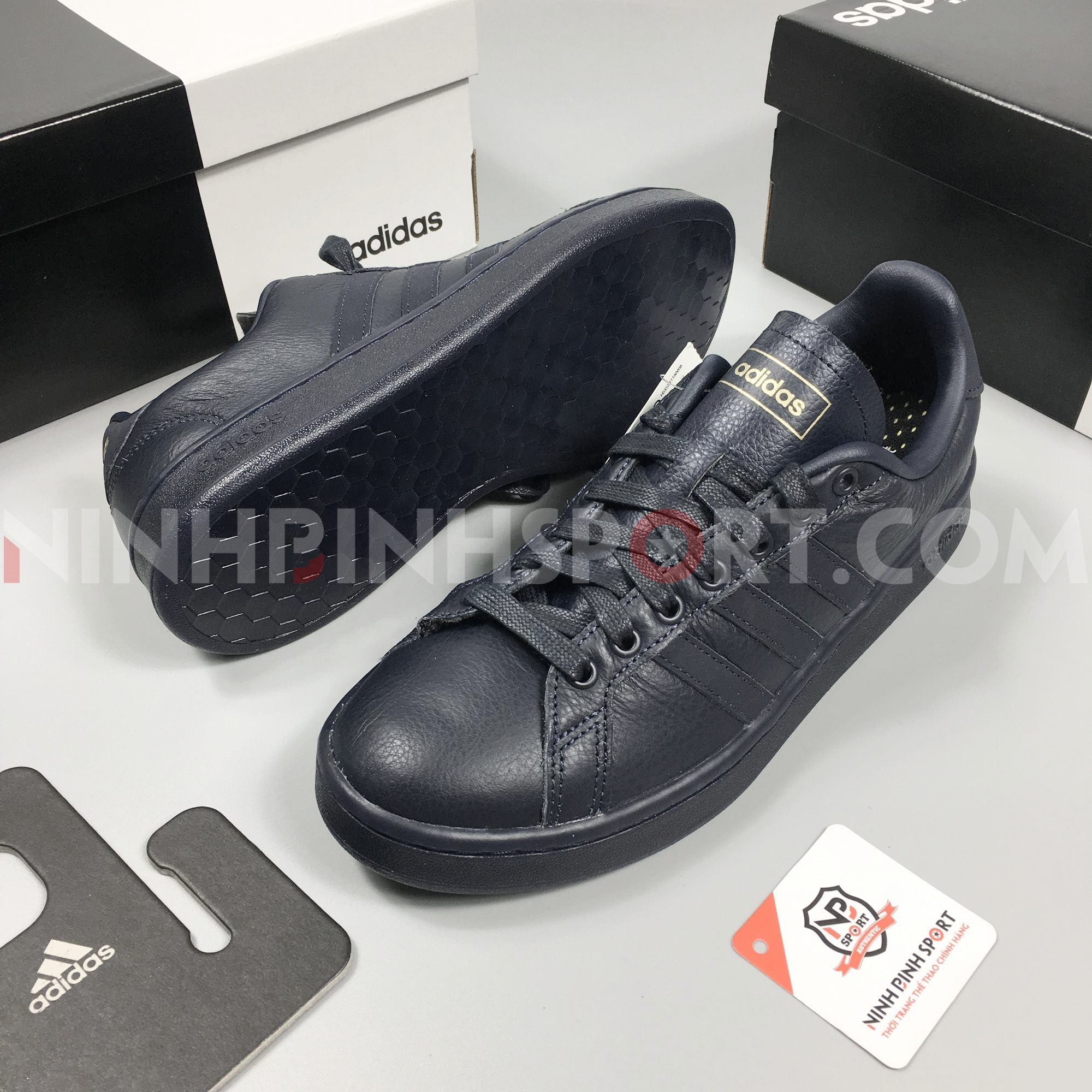 Giày thể thao nam Adidas Grand Court EE7883