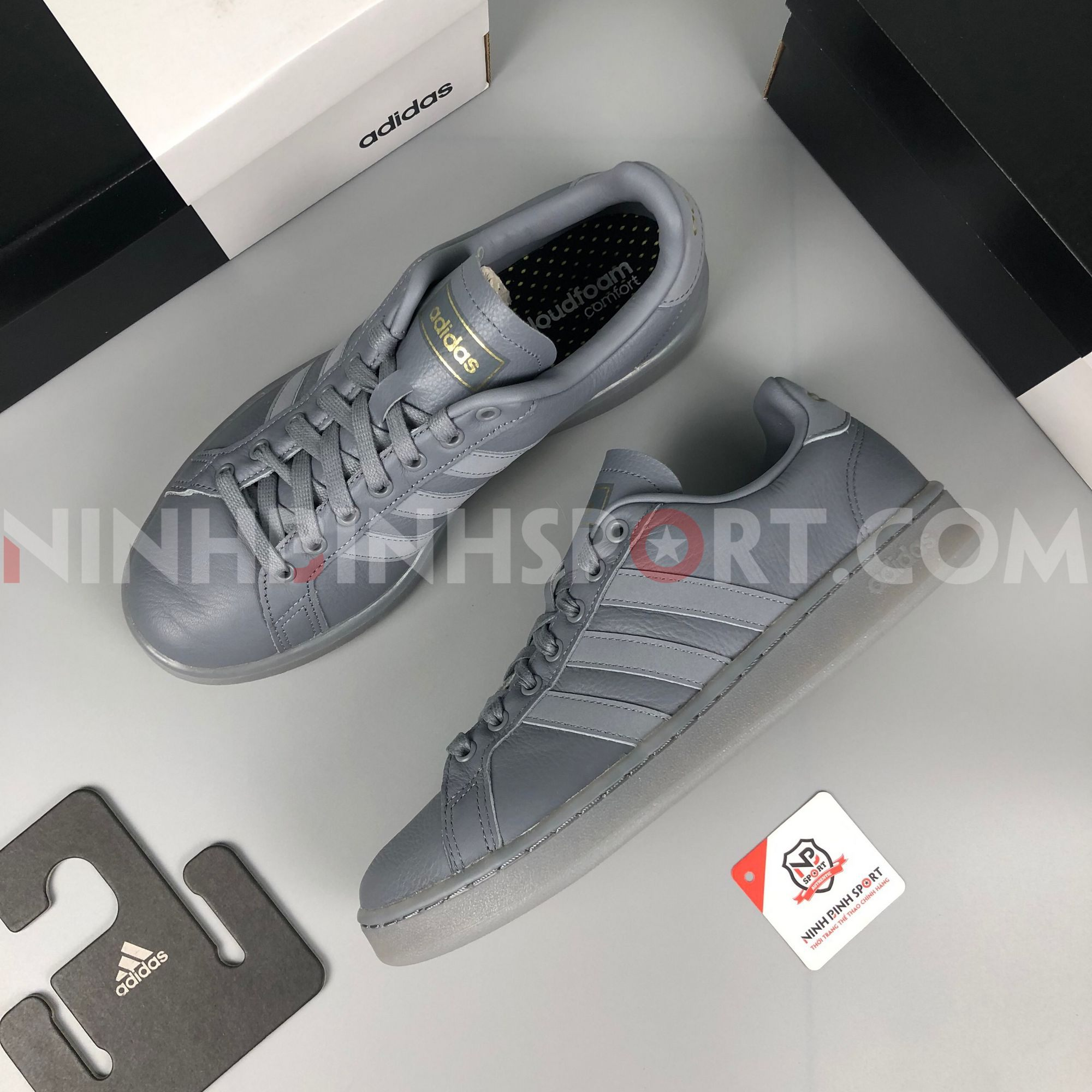 Giày thể thao nam Adidas Grand Court EE7884