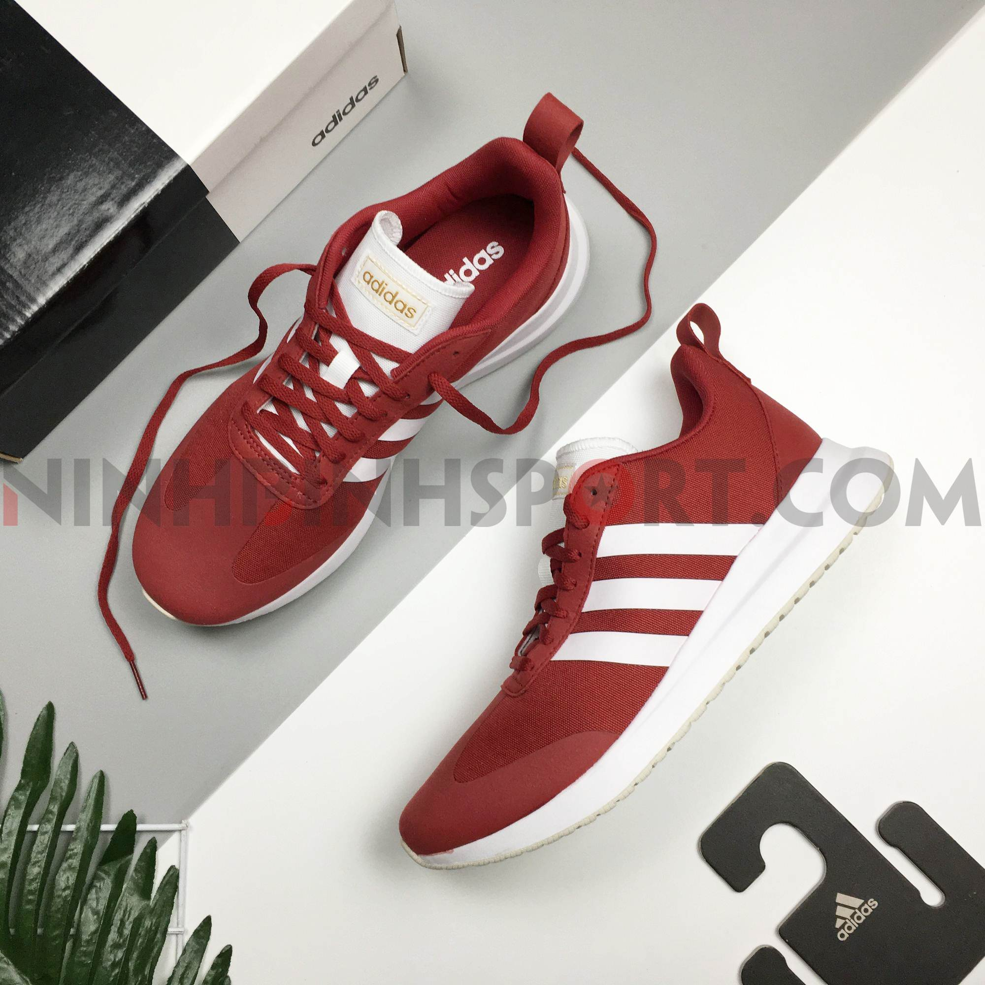 Giầy thể thao nam Adidas Run 60s Red EE9729