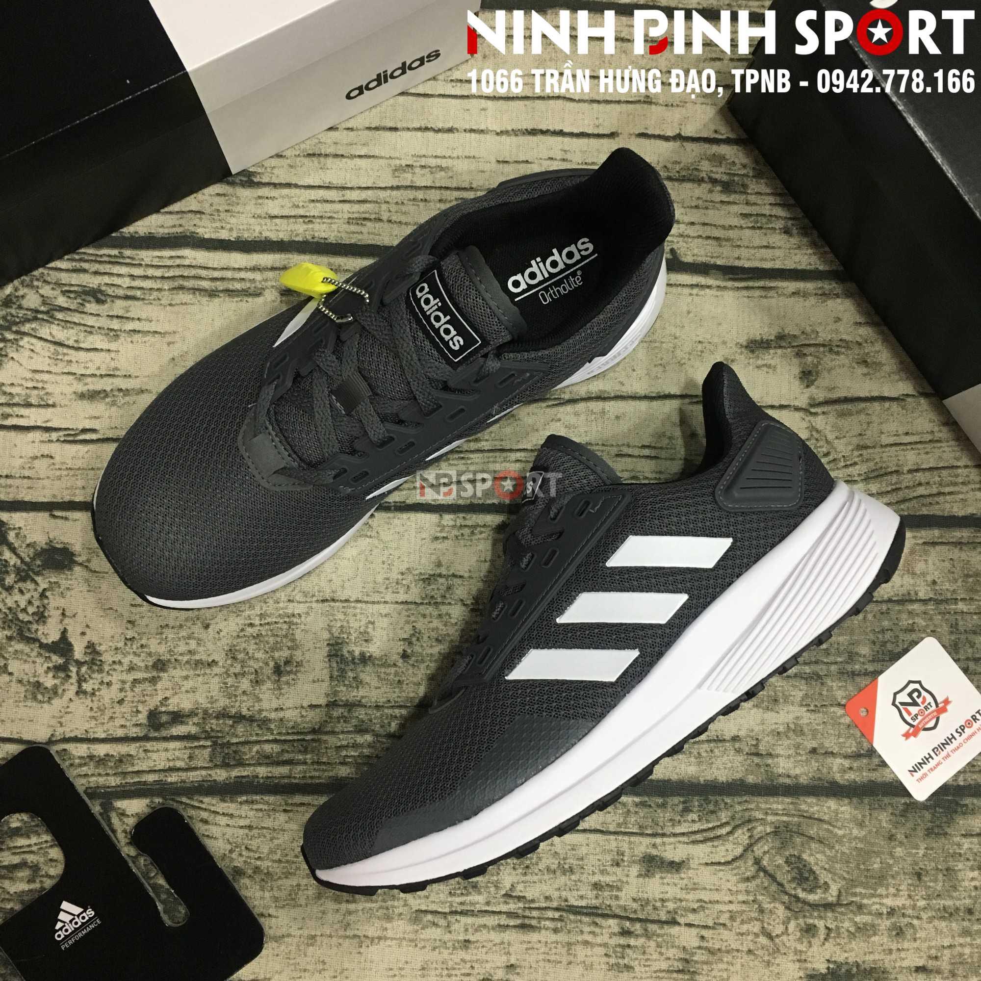 Giầy thể thao nam Adidas Duramo 9 Grey F34491