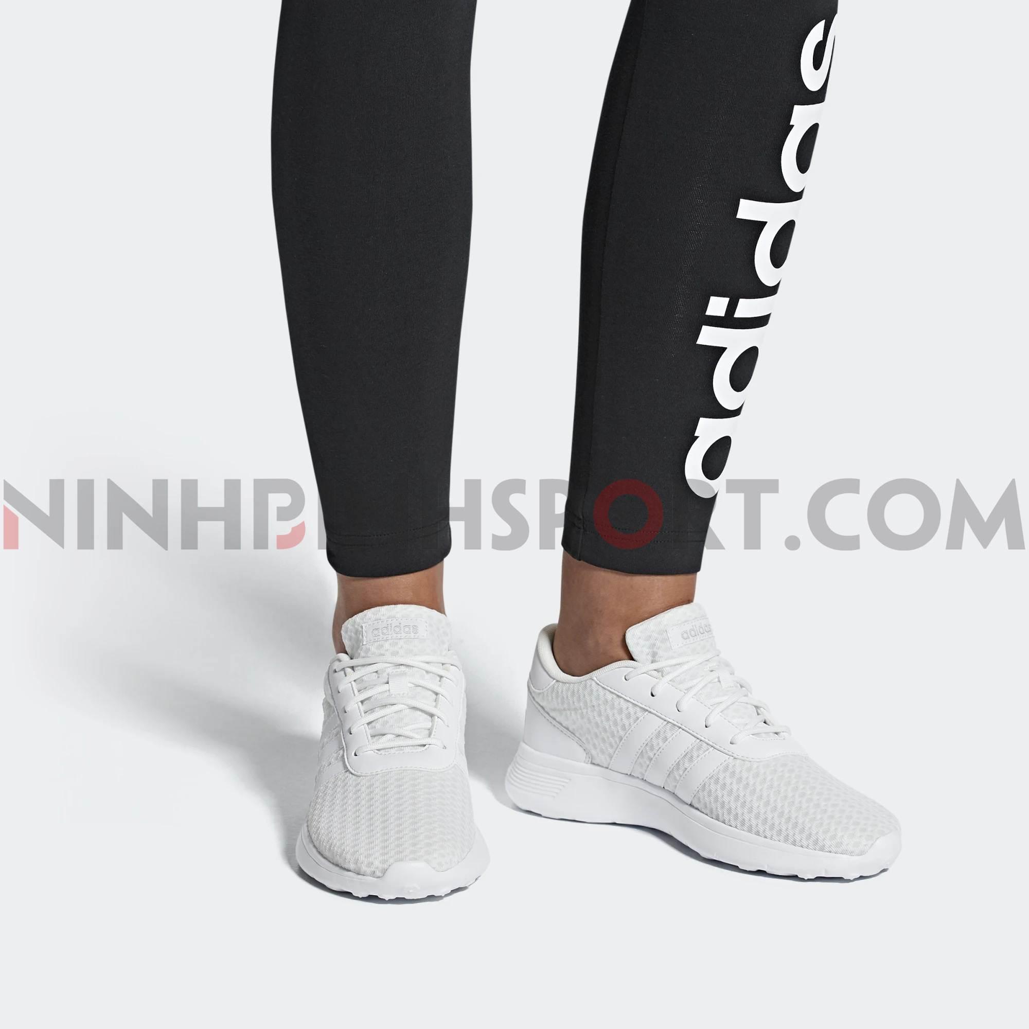 Giầy thể thao nữ Adidas Lite Racer White F34672