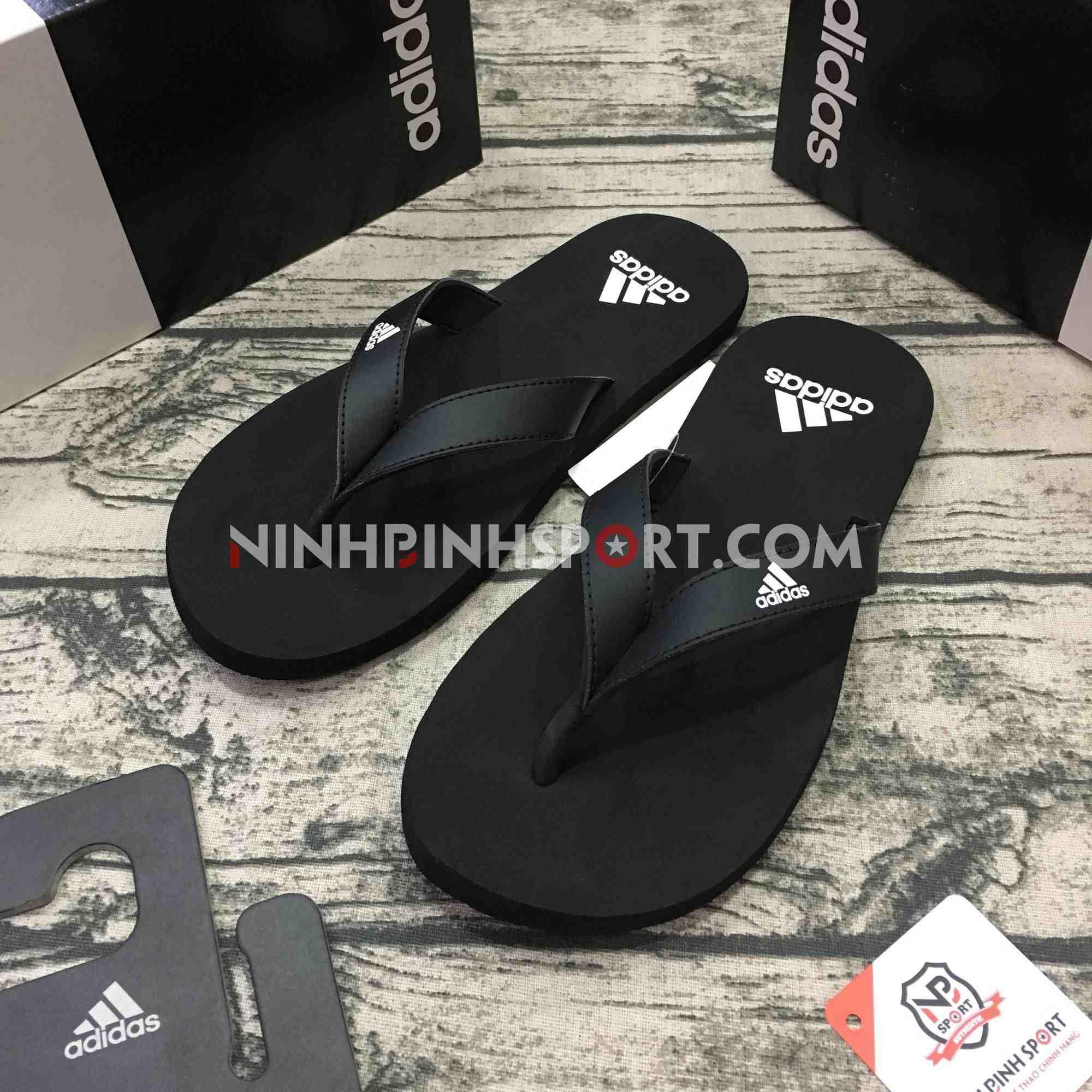 Tông thể thao nam Adidas Eezay Flip-Flops Black F35029