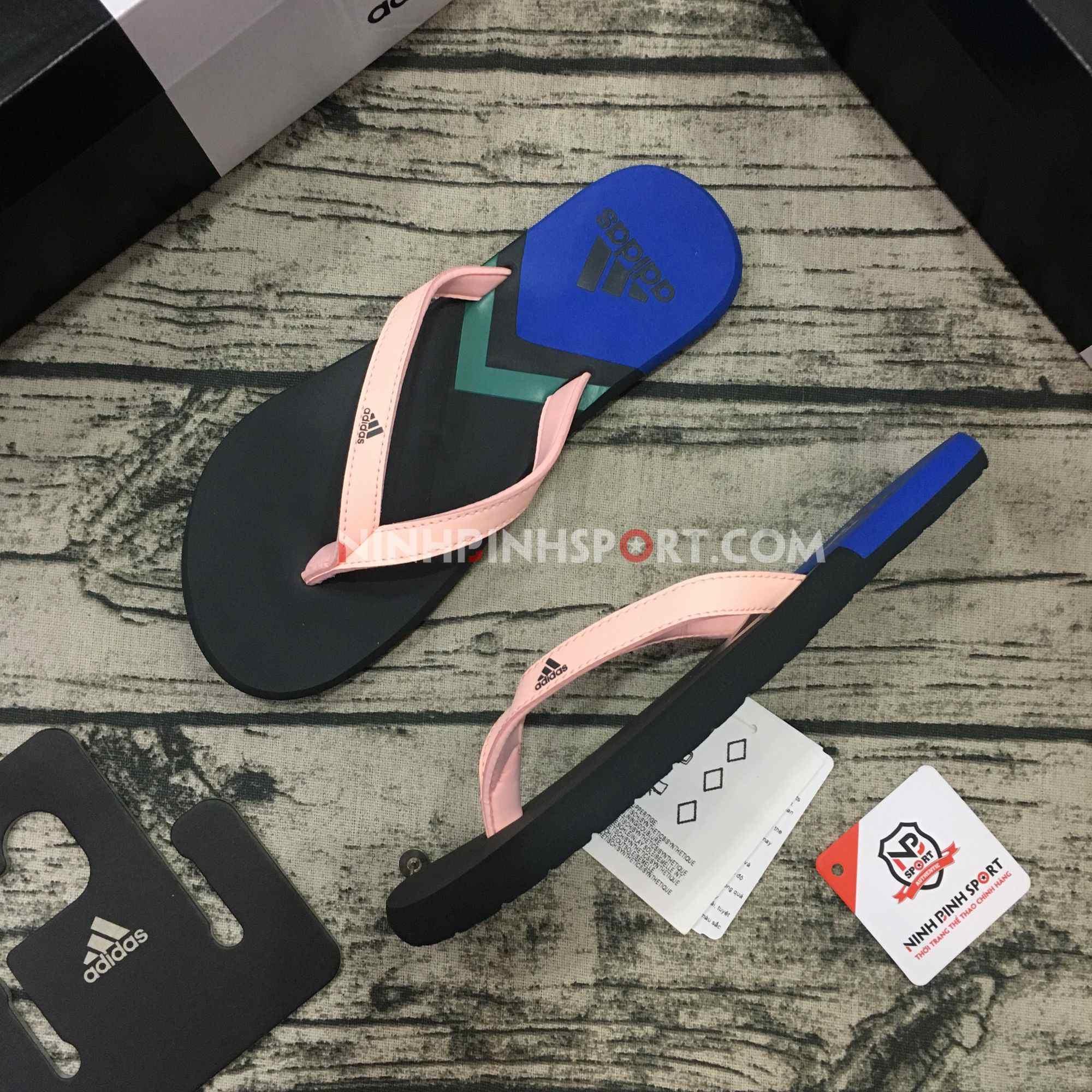 Tông thể thao nữ Adidas Eezay Flip-Flops Pink F35030