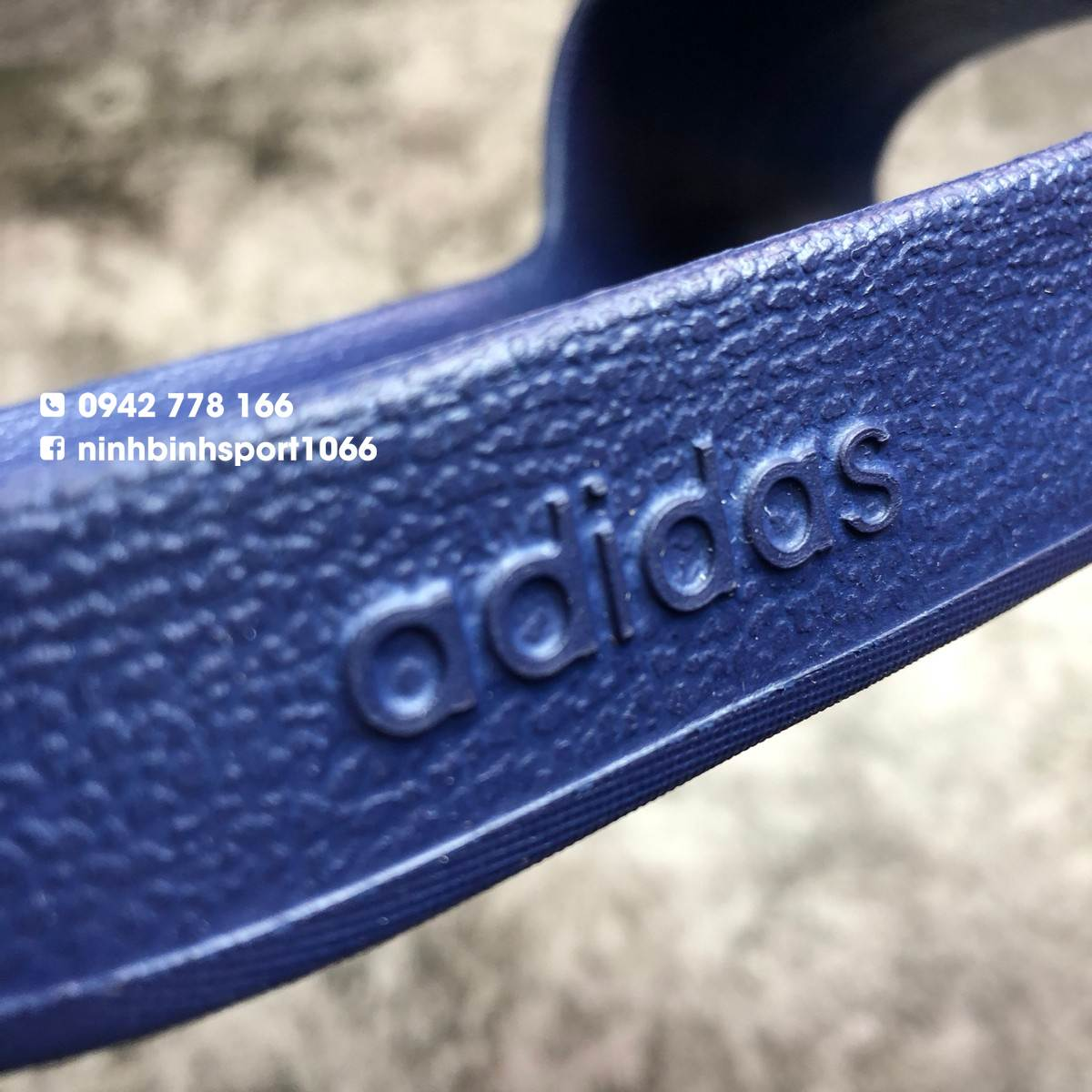 Dép thể thao nam Adidas Adilette Aqua Blue F35542