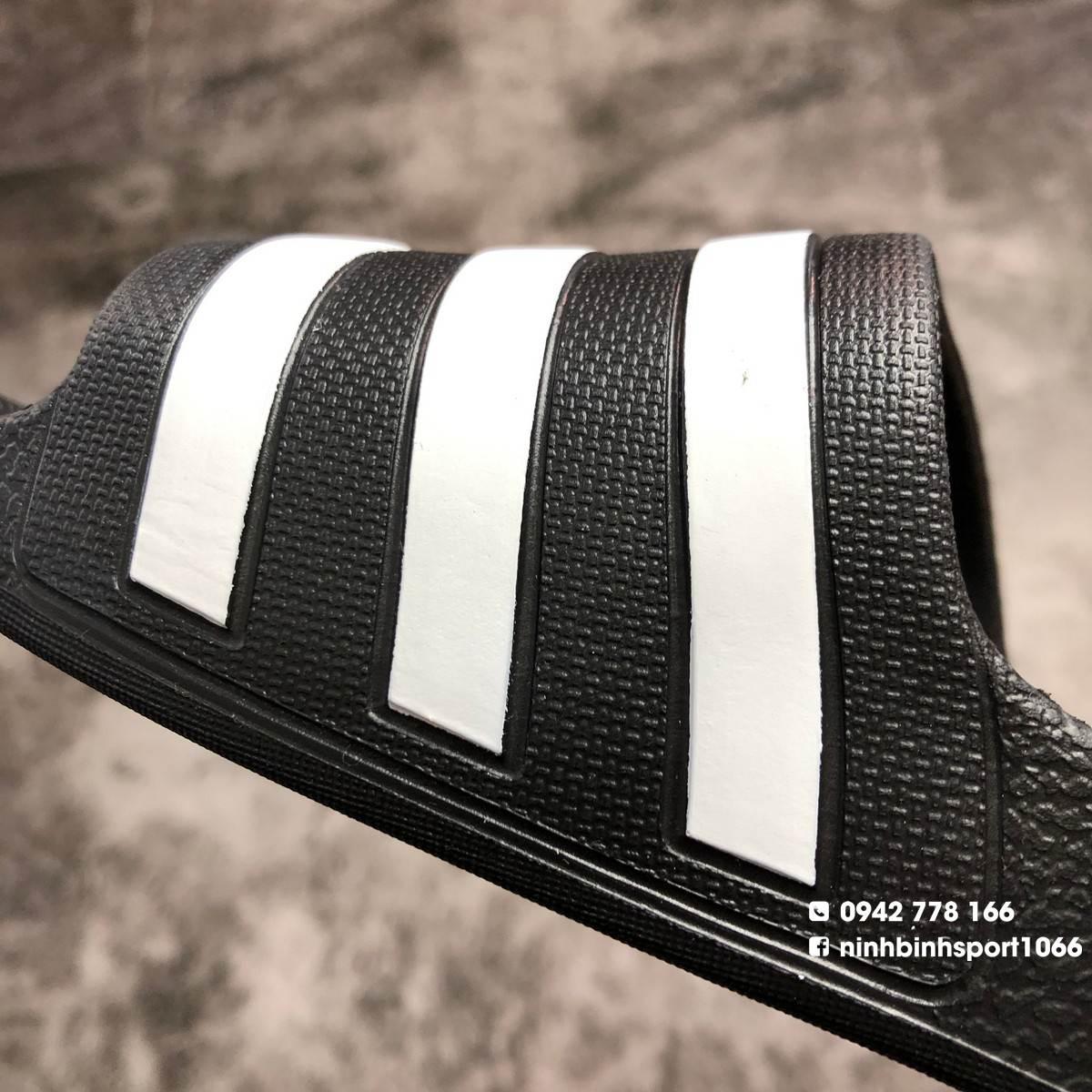Dép thể thao nam Adidas Adilette Aqua Black F35543
