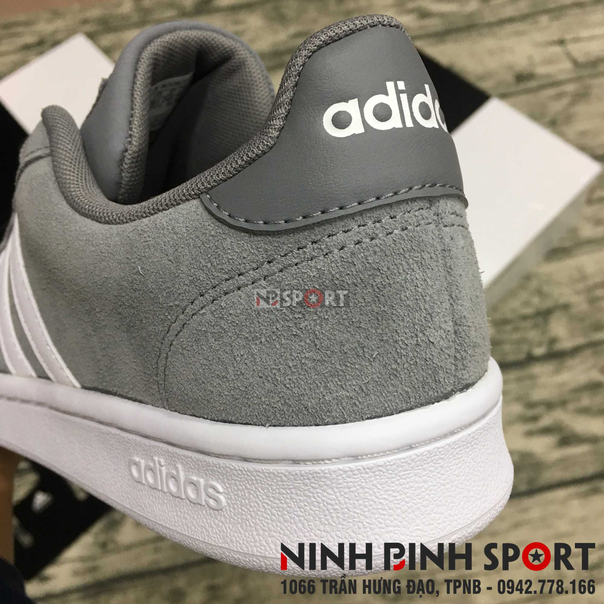 Giầy thể thao nam Adidas  Grand Court F36412