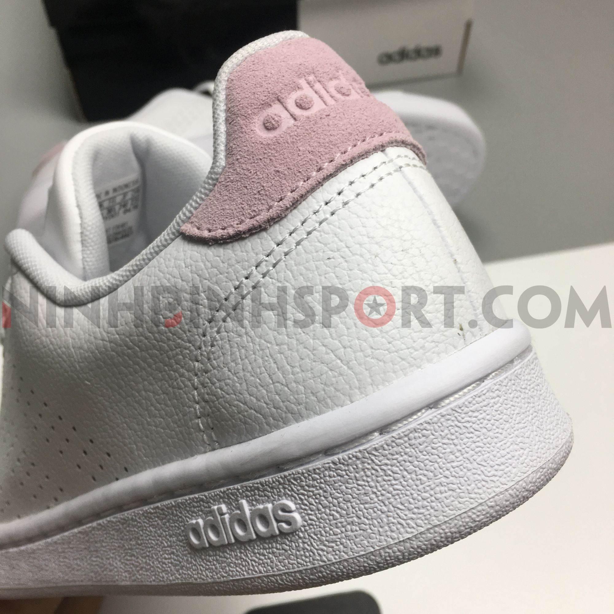 Giày thể thao nữ Adidas Advantage White F36481