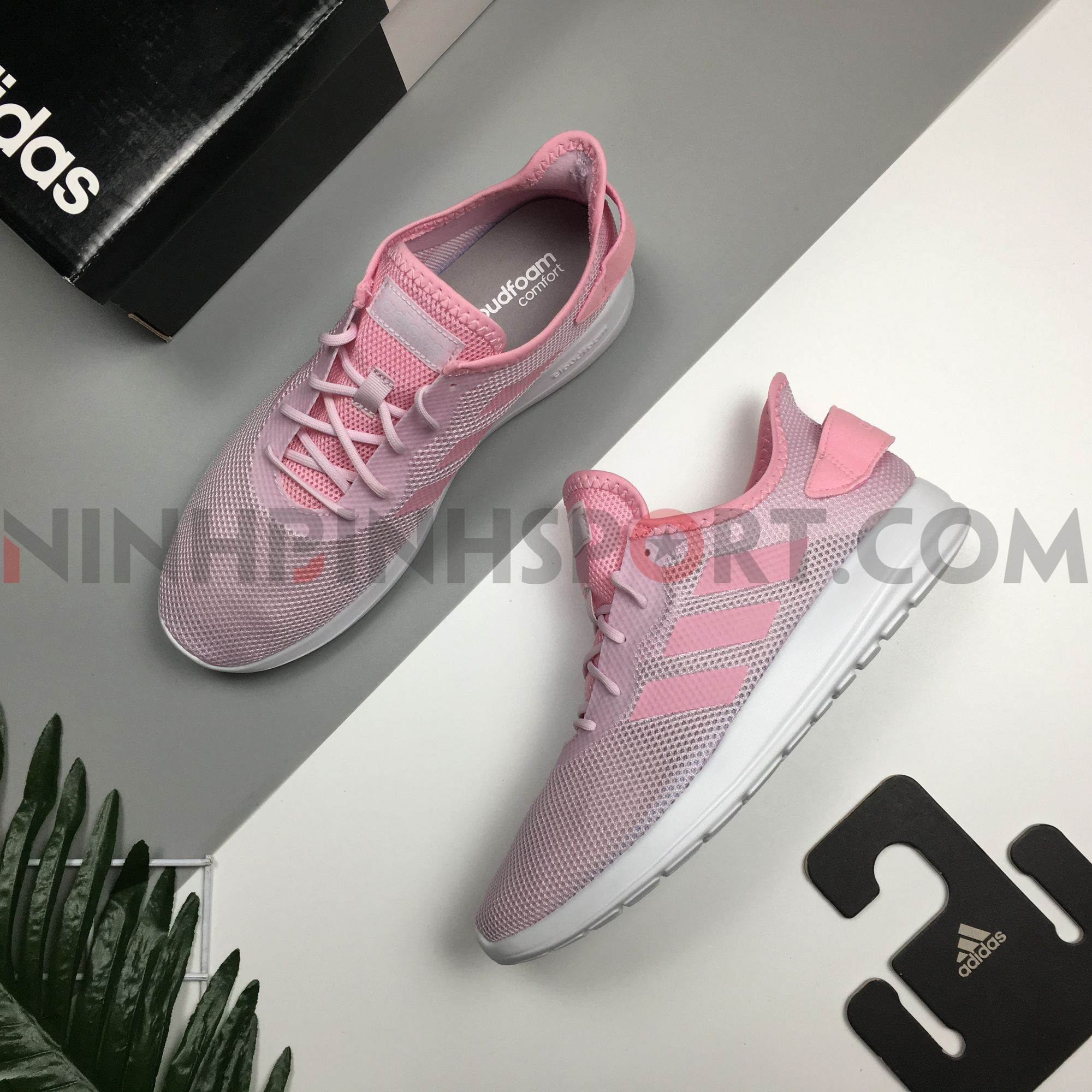 Giầy thể thao nữ Adidas Yatra Pink F36514